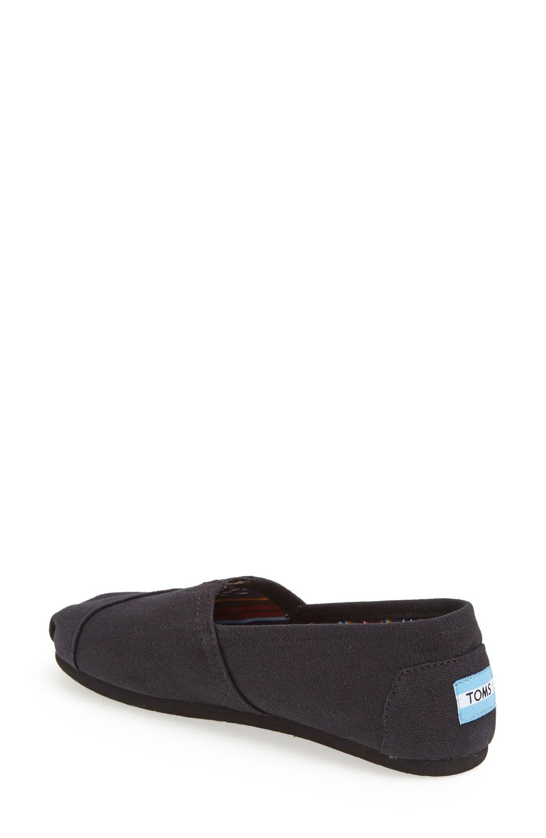 Alternate Image 2  - TOMS Classic - Alpargata Slip-On (Women)