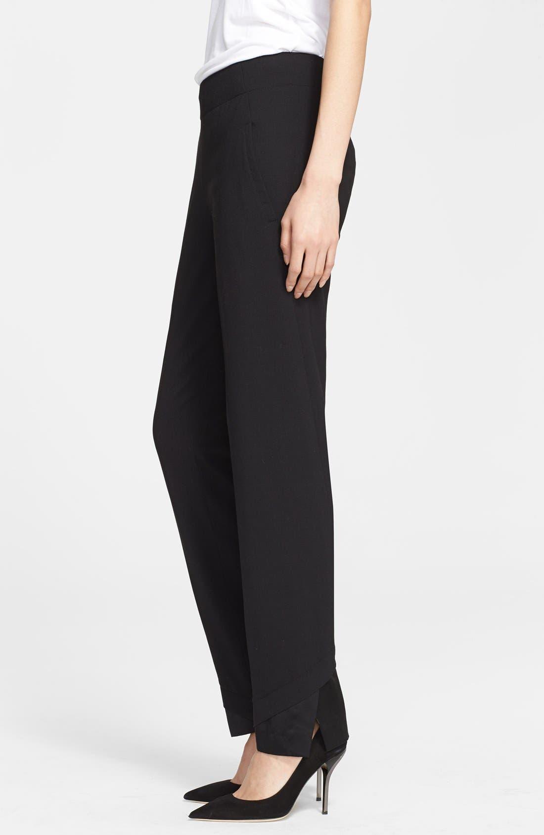Alternate Image 3  - Donna Karan Collection Slim Wool Jersey Pants
