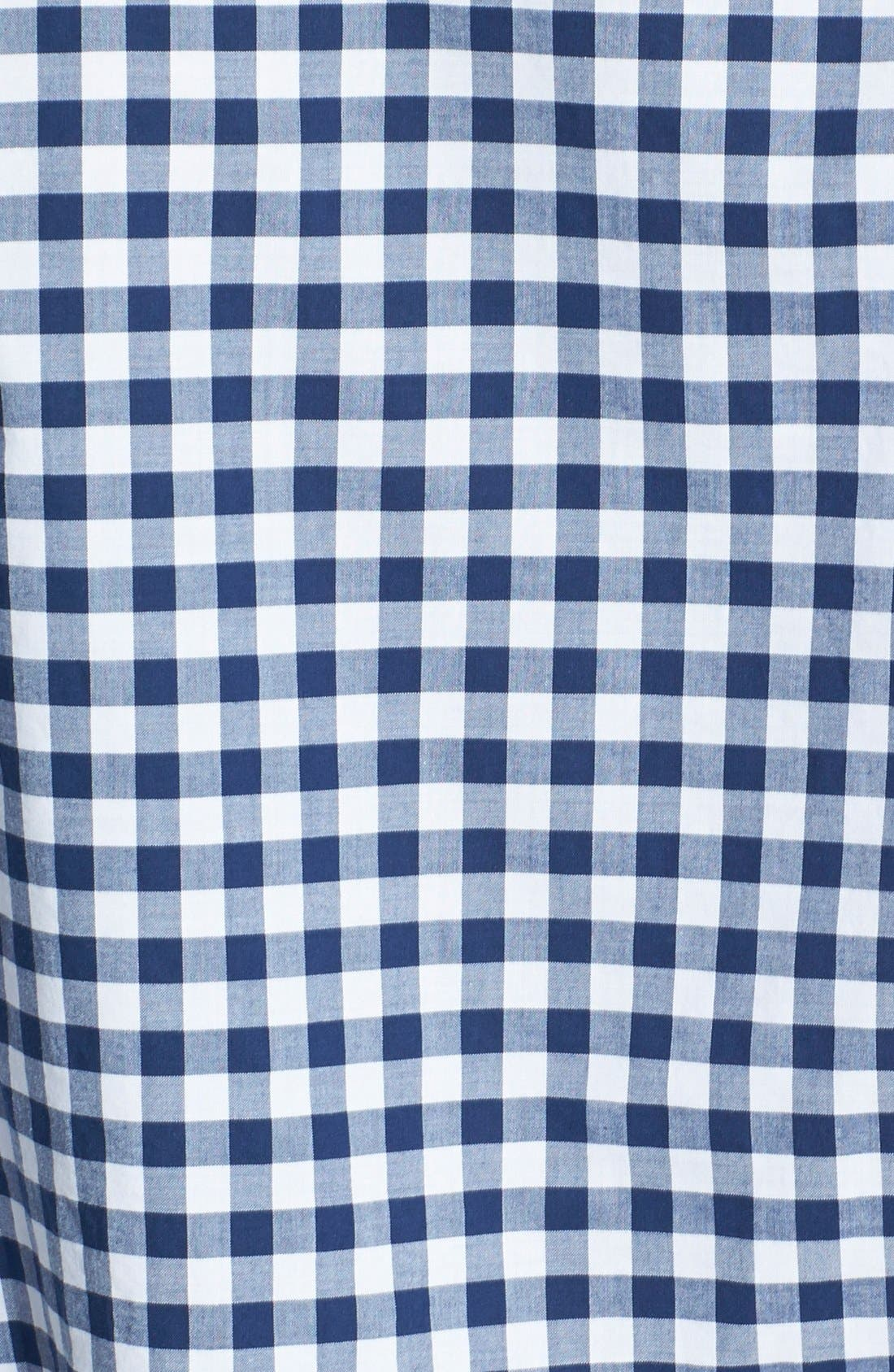 Alternate Image 3  - Bonobos 'Ging Crosby' Gingham Standard Fit Sport Shirt