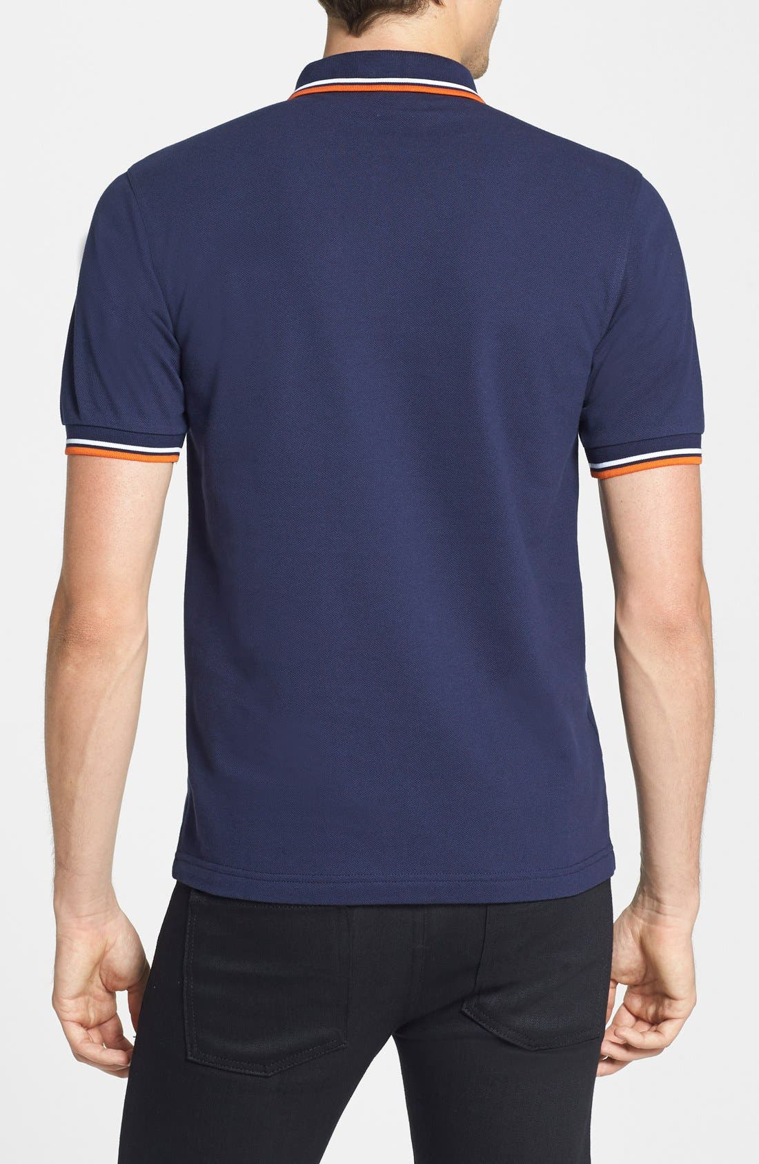 Alternate Image 2  - Fred Perry Trim Fit Twin Tipped Polo