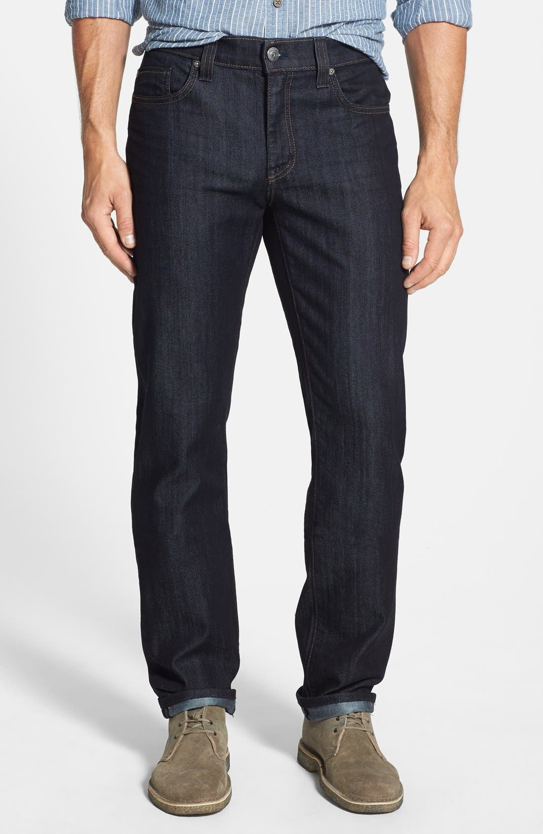 Fidelity Denim 50-11 Relaxed Fit Jeans (Revolution Rinse)