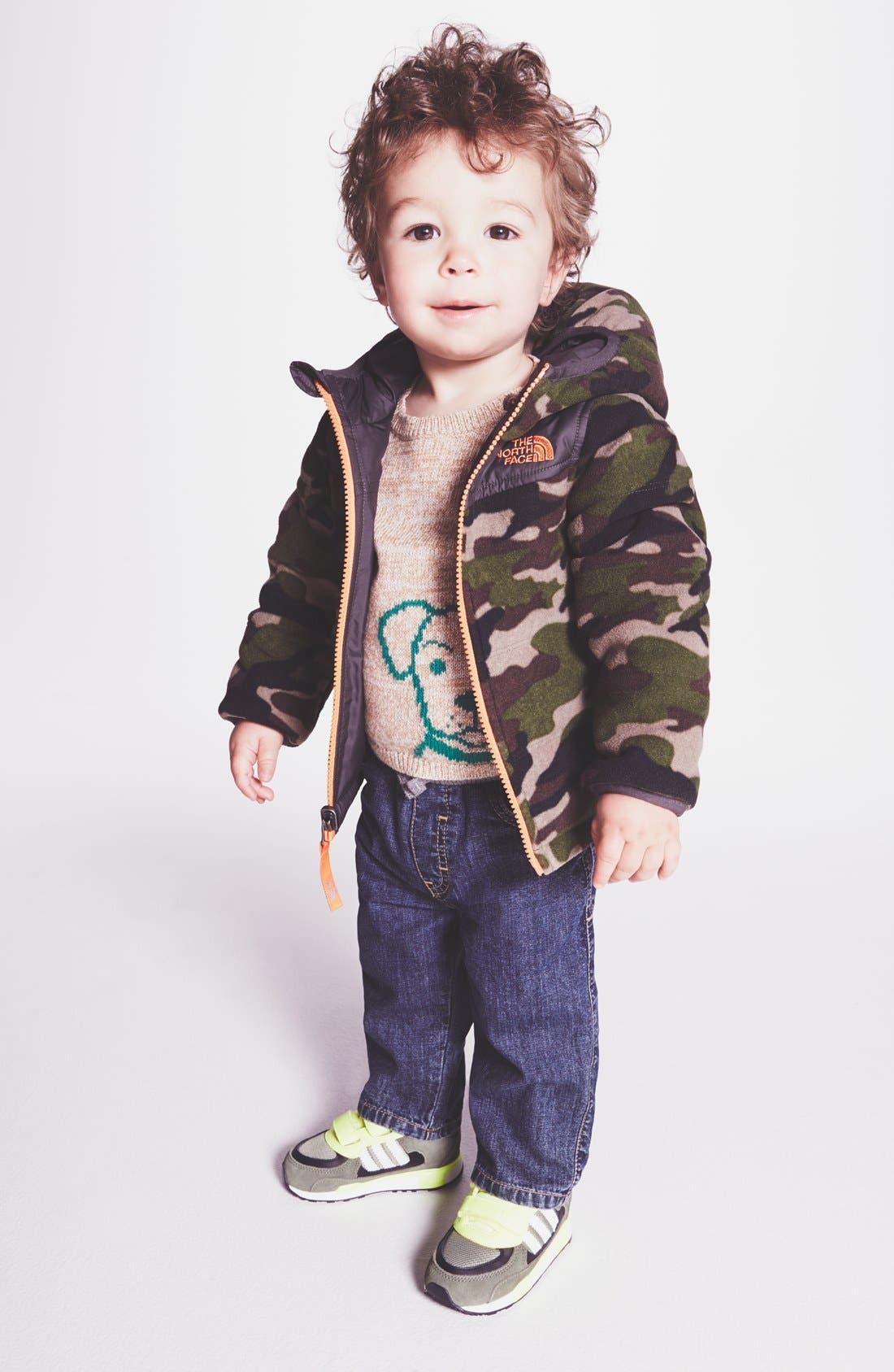 Alternate Image 2  - Tucker + Tate 'Tucker' Knit Waist Straight Leg Jeans (Baby Boys)