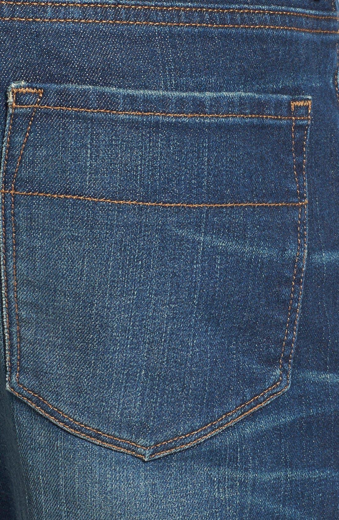 'Jones' Slim Straight Fit Jeans,                             Alternate thumbnail 4, color,                             Camp