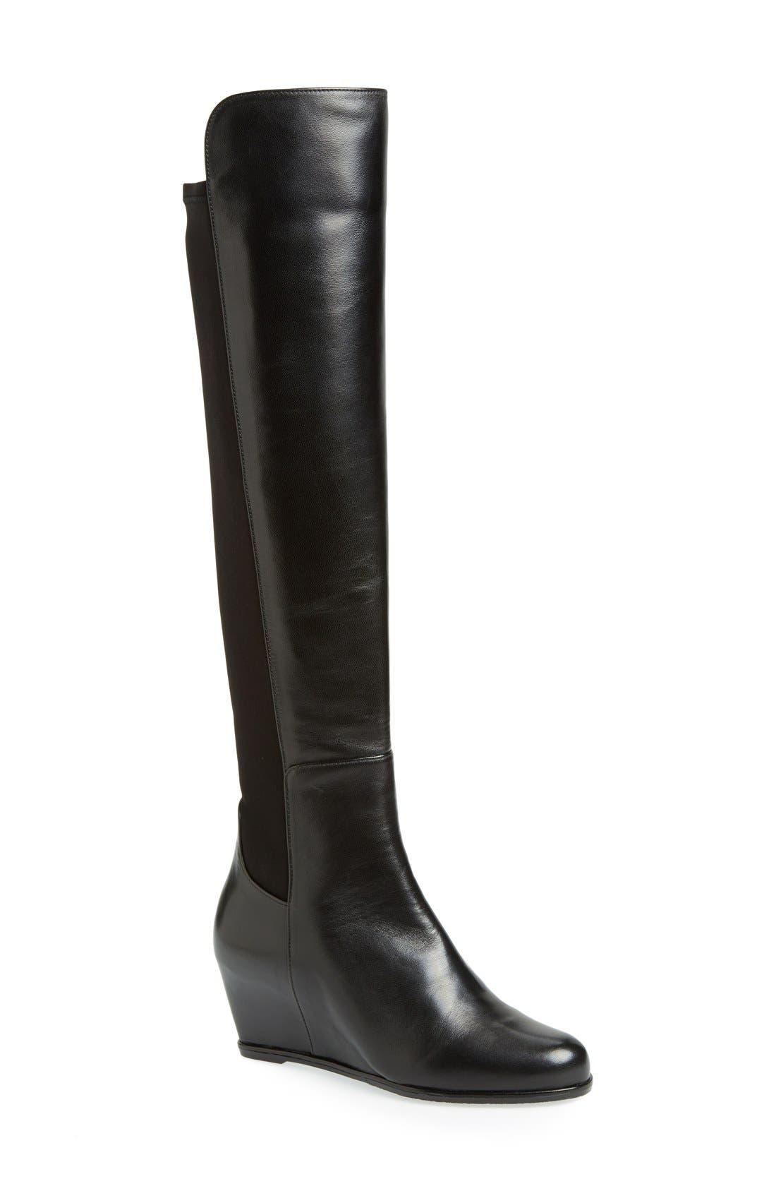 Alternate Image 1 Selected - Stuart Weitzman 'Semi' Over the Knee Boot (Women)