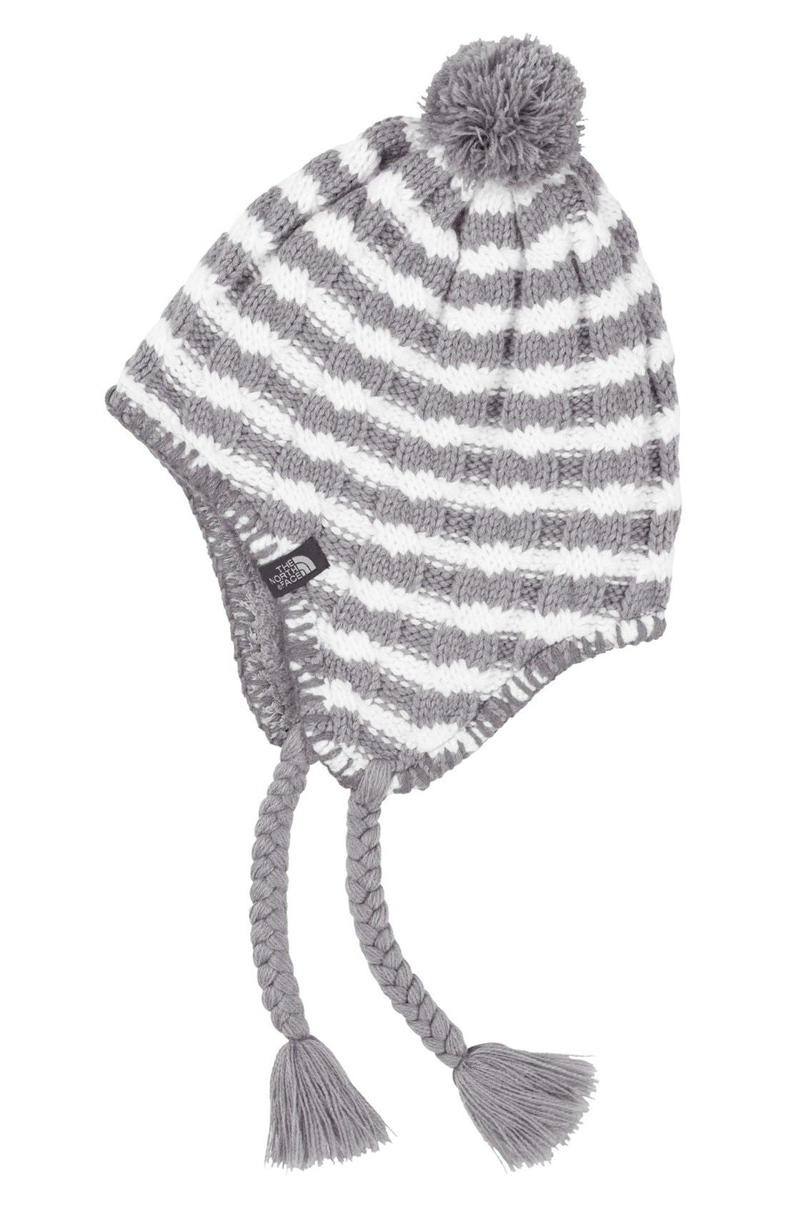 Main Image - The North Face 'Fuzzy Earflap' Beanie (Girls)