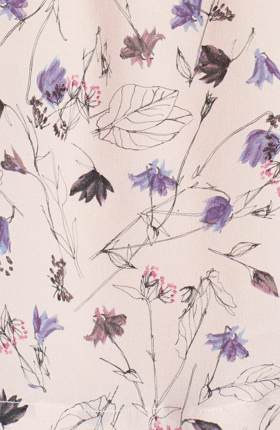 Alternate Image 3  - Rebecca Taylor Sleeveless Print Top