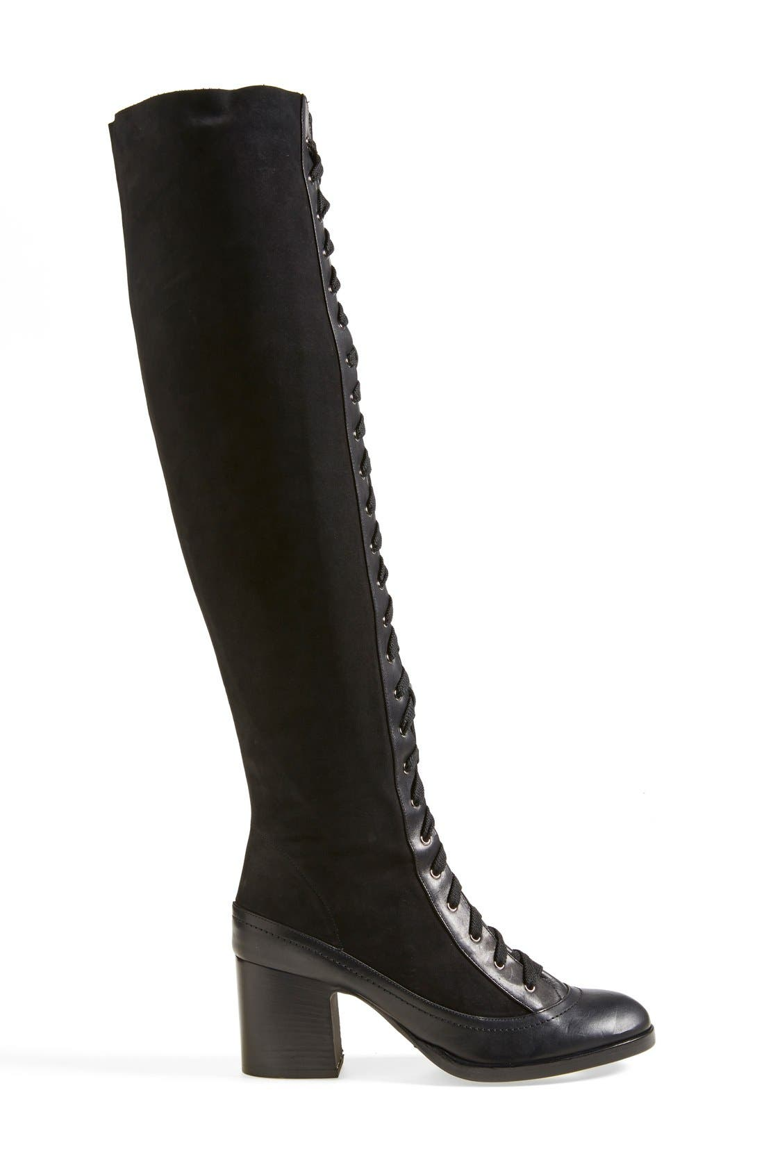 Alternate Image 4  - Rag & Bone 'Acton' Knee High Boot (Women)