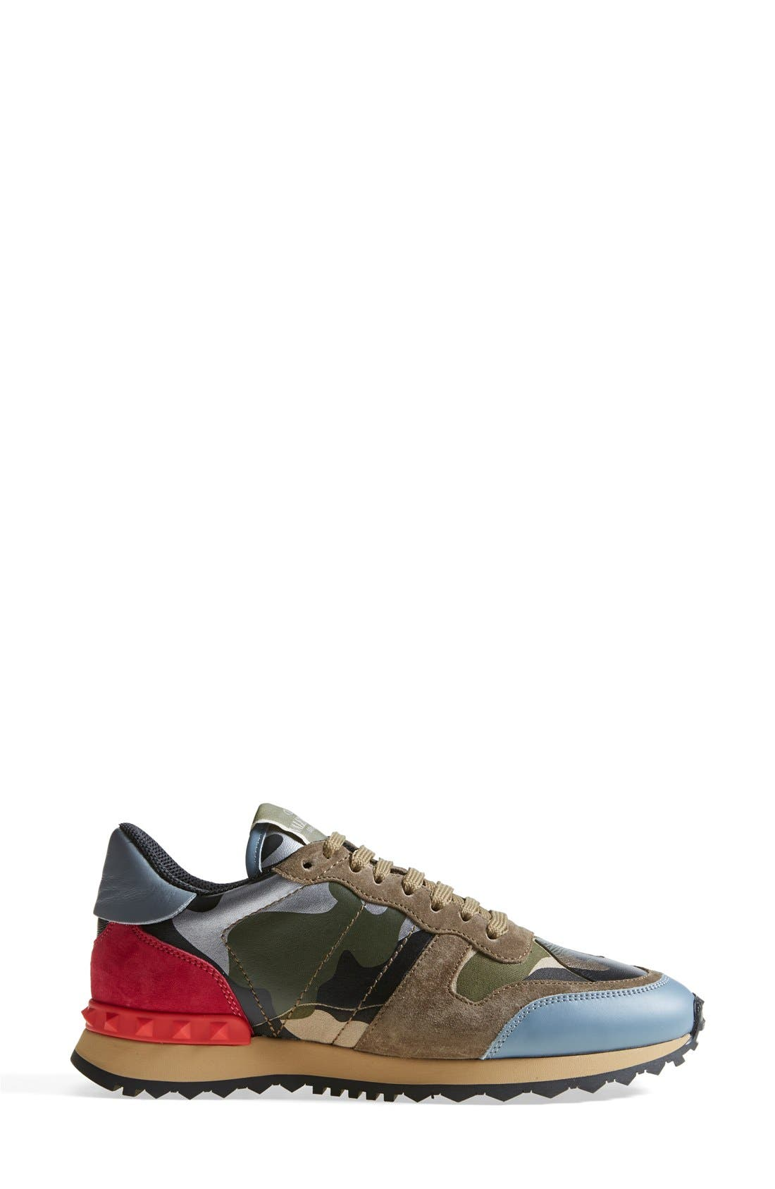 Alternate Image 4  - VALENTINO GARAVANI Camouflage Sneaker (Women)