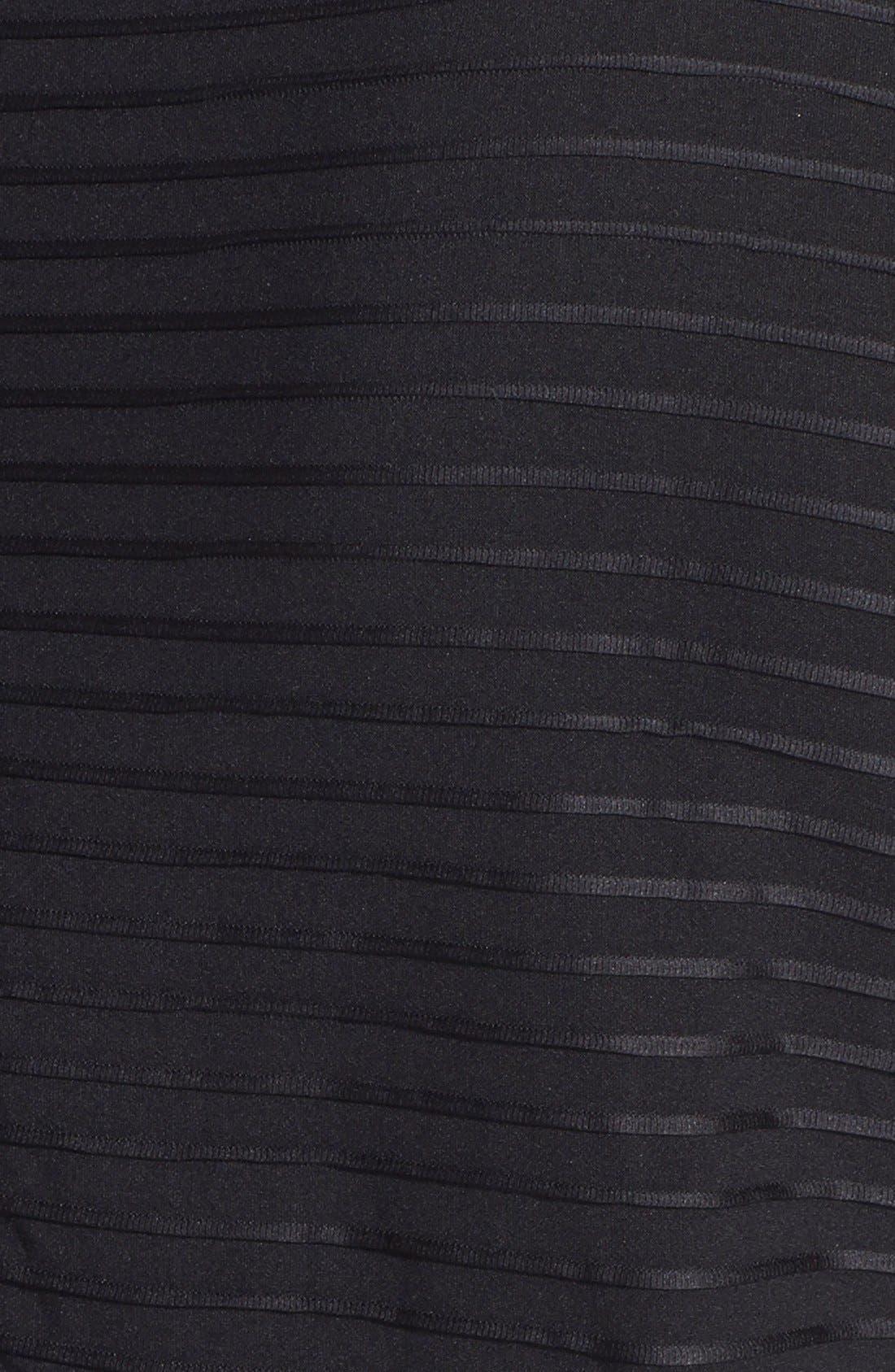 Alternate Image 3  - Taylor Dresses Pintuck Fit & Flare Dress (Plus Size)