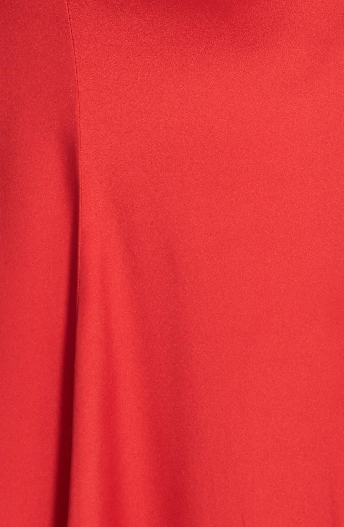 Alternate Image 3  - Jill Jill Stuart Open Back Deep V-Neck Crepe Gown