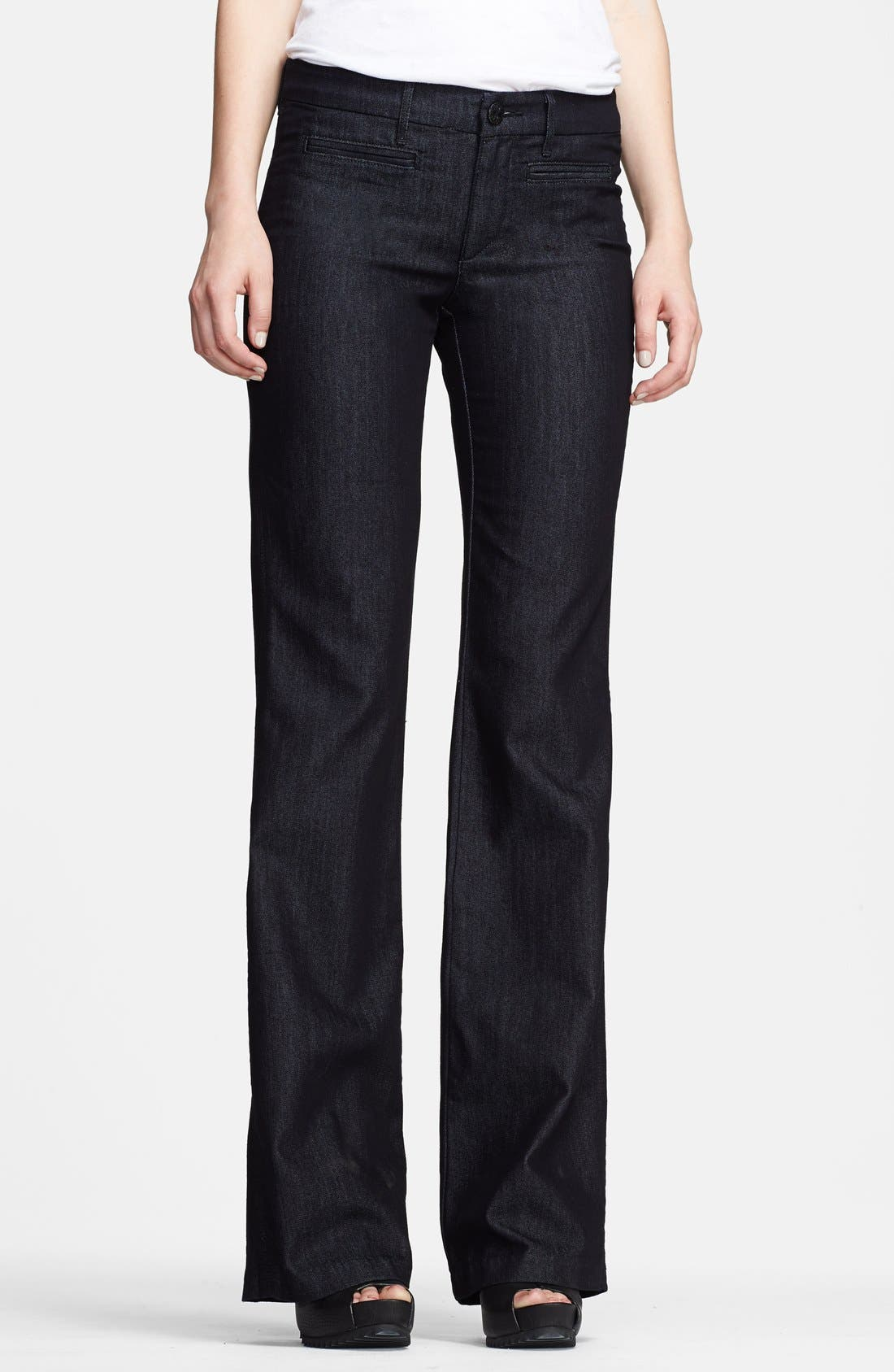 Alternate Image 1 Selected - Habitual 'Pearl Perfect' Denim Trousers (Darkness)