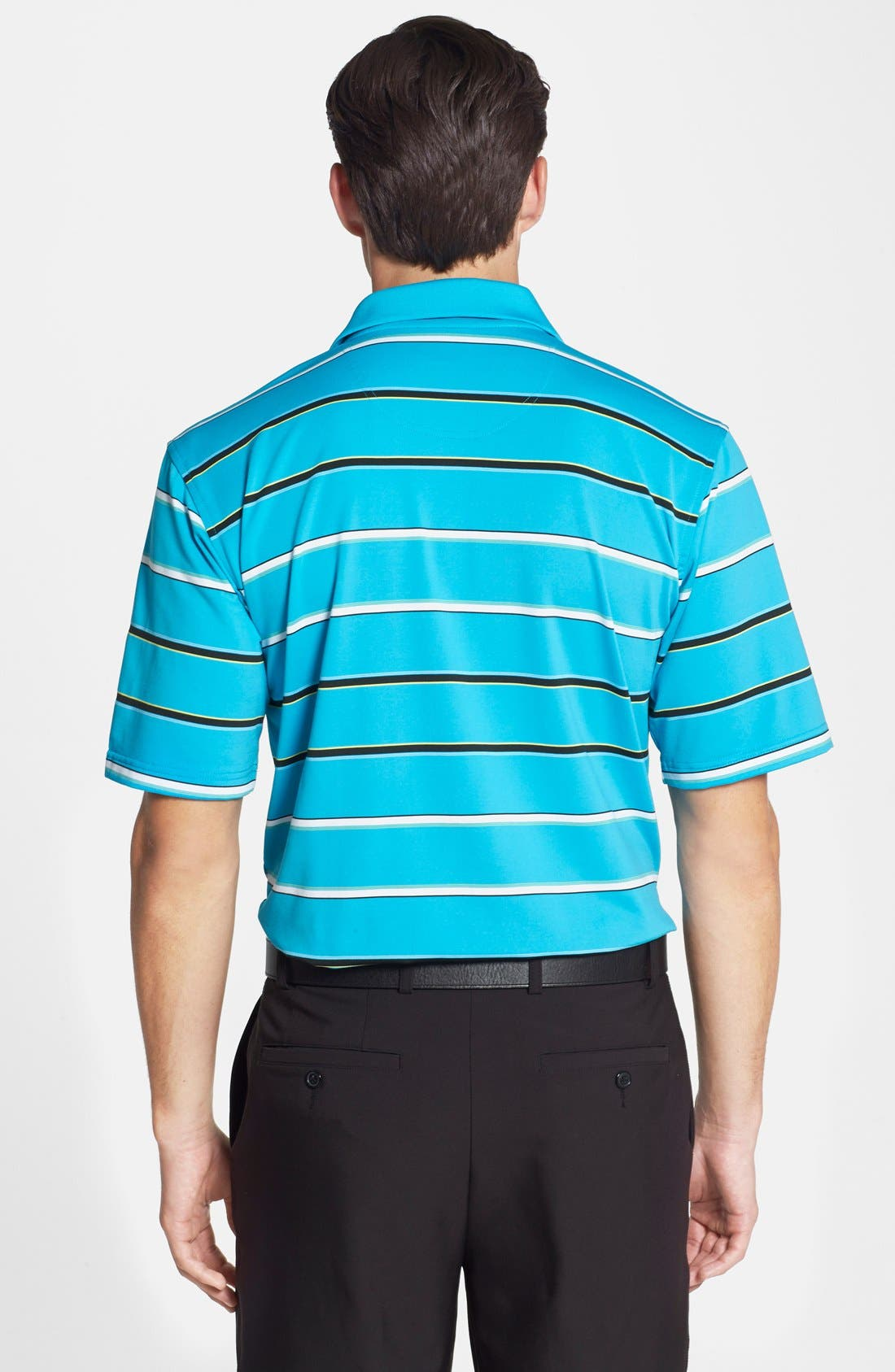 Alternate Image 2  - SWC Stripe Performance Polo