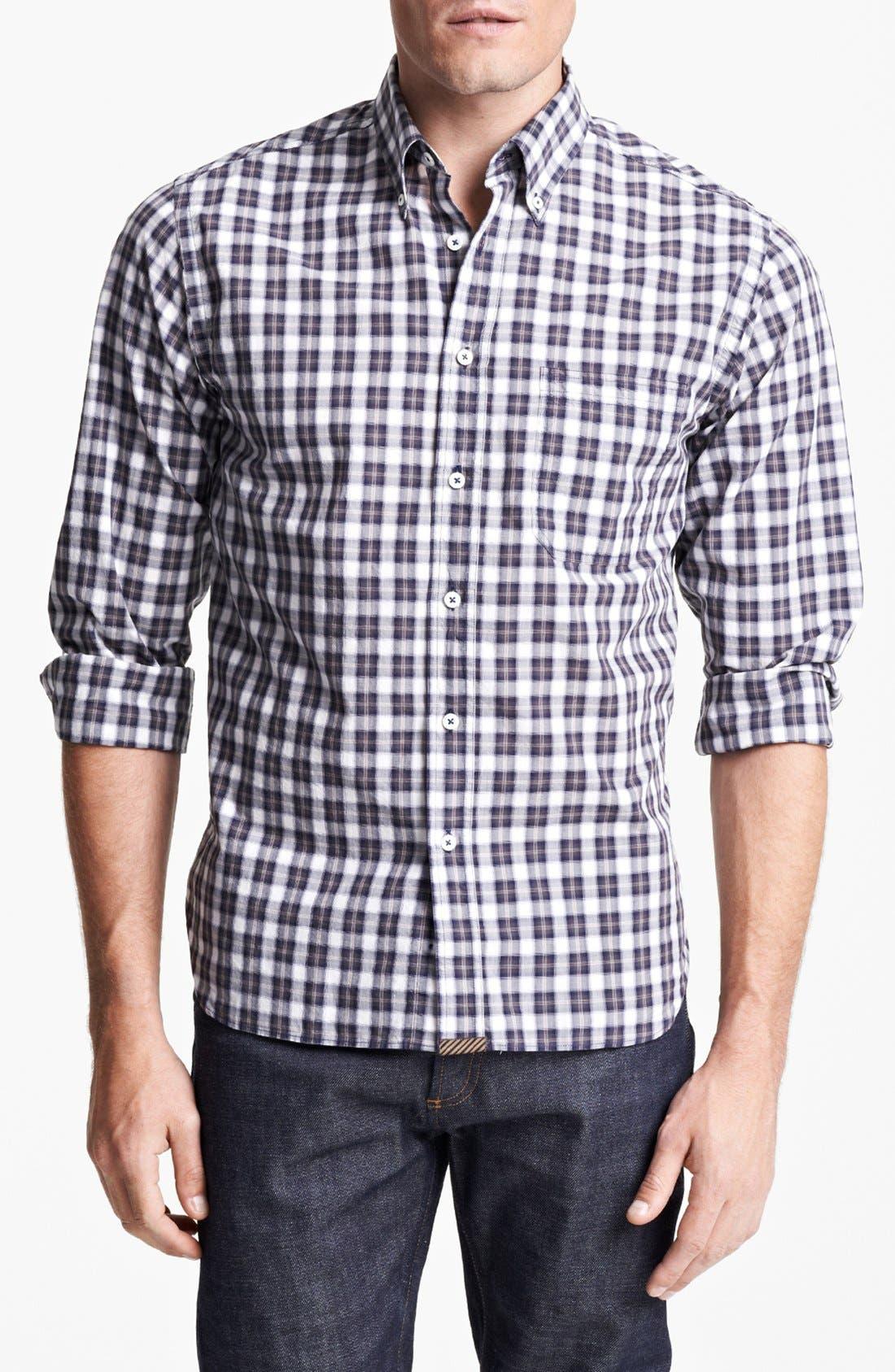 Alternate Image 1 Selected - Billy Reid 'Tuscumbia' Plaid Shirt