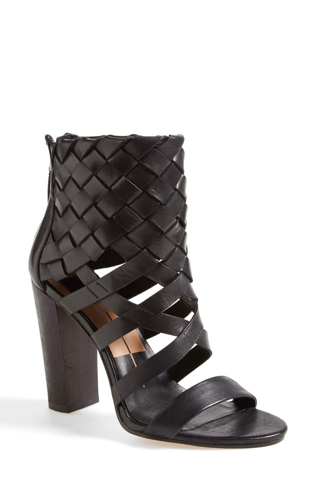 Alternate Image 1 Selected - Dolce Vita 'Nakita' Woven Leather Sandal