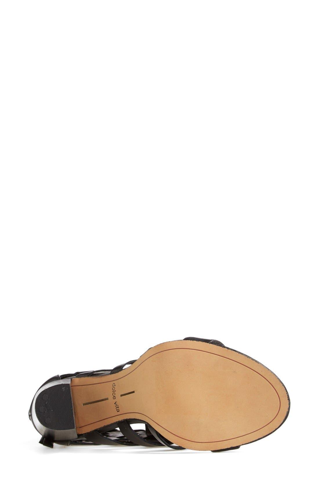Alternate Image 4  - Dolce Vita 'Nakita' Woven Leather Sandal
