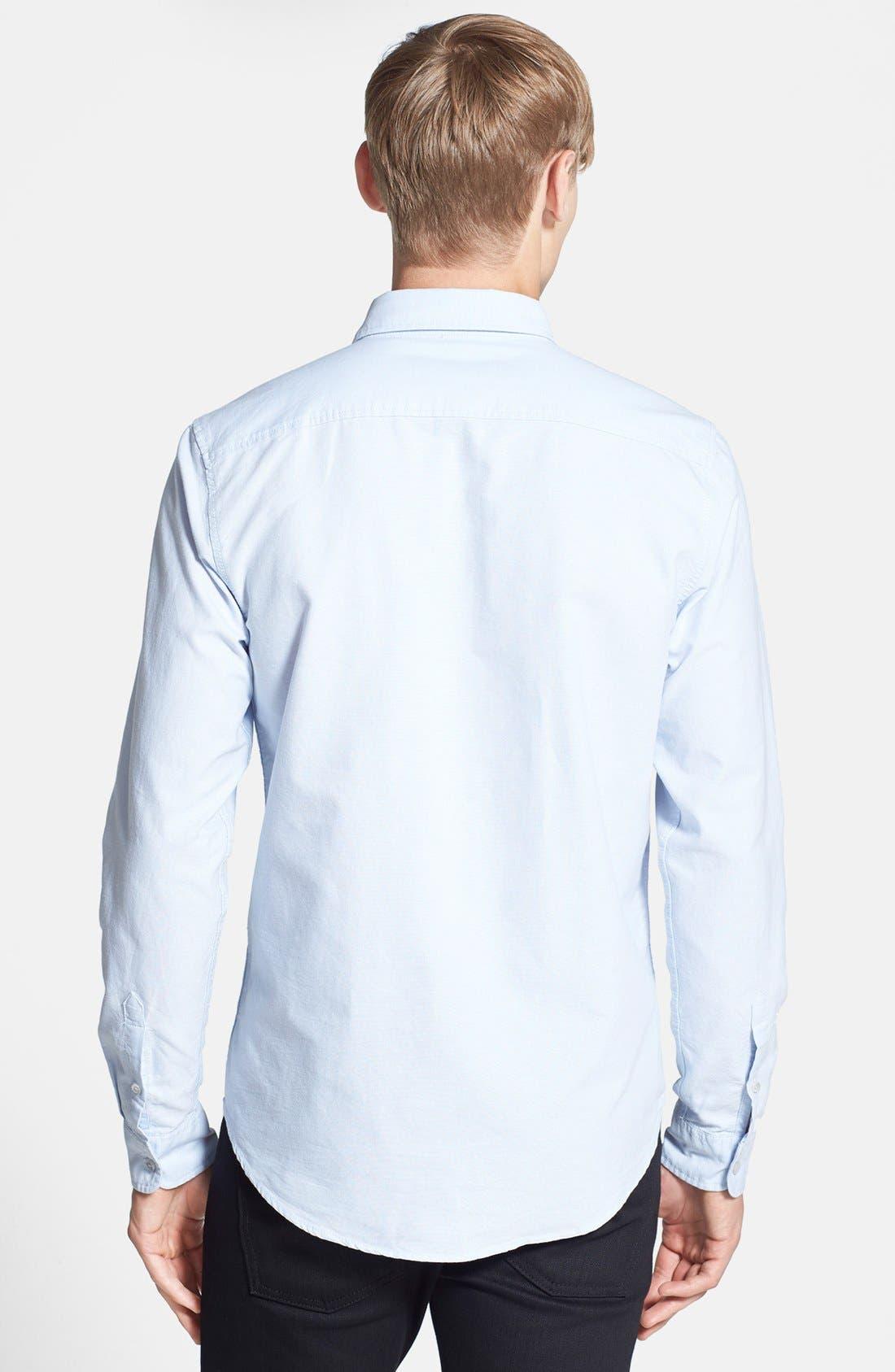 Alternate Image 2  - Topman Slim Fit Oxford Shirt