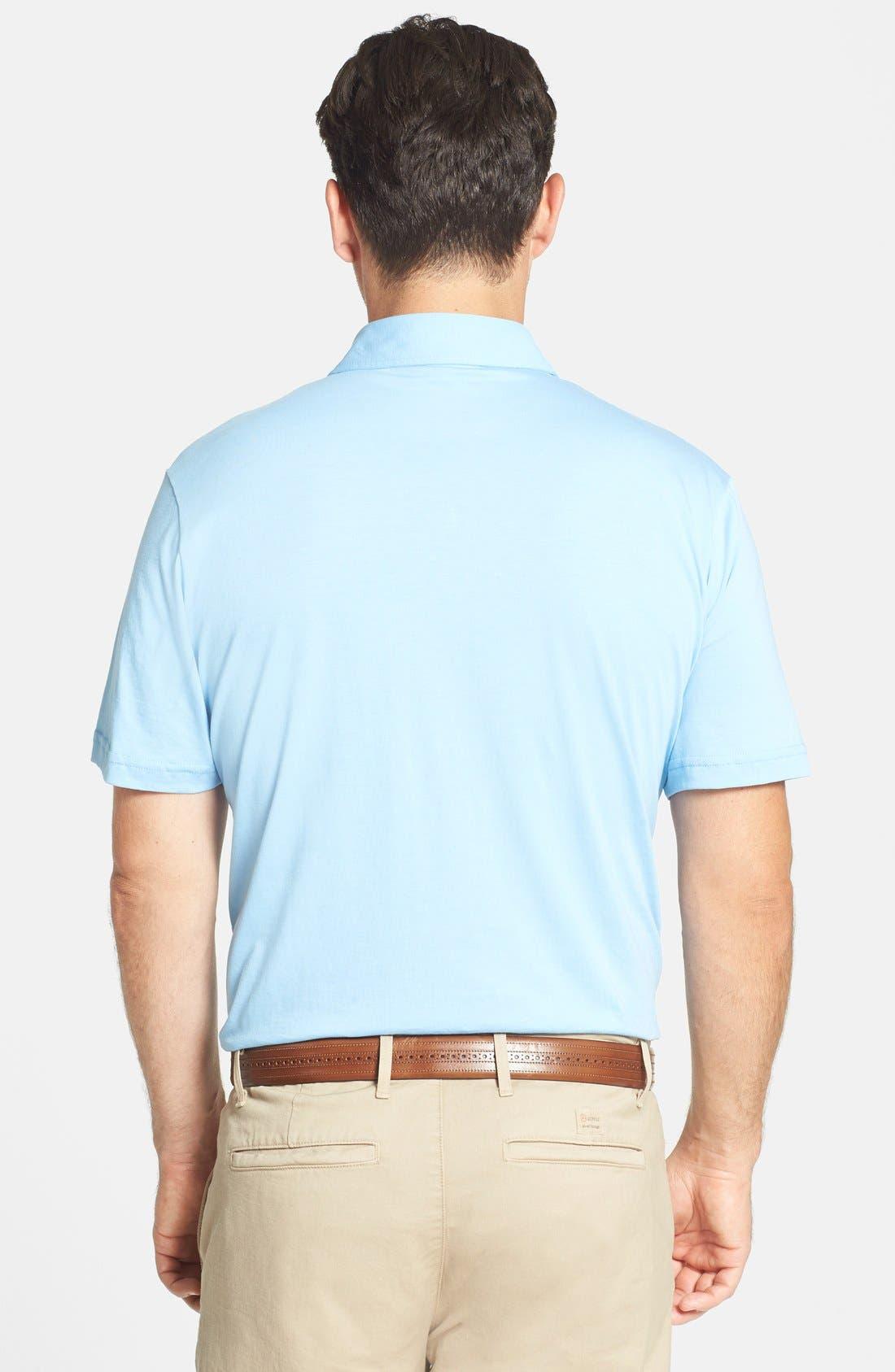 Alternate Image 2  - Peter Millar Taylor Fit Vintage Wash Jersey Polo