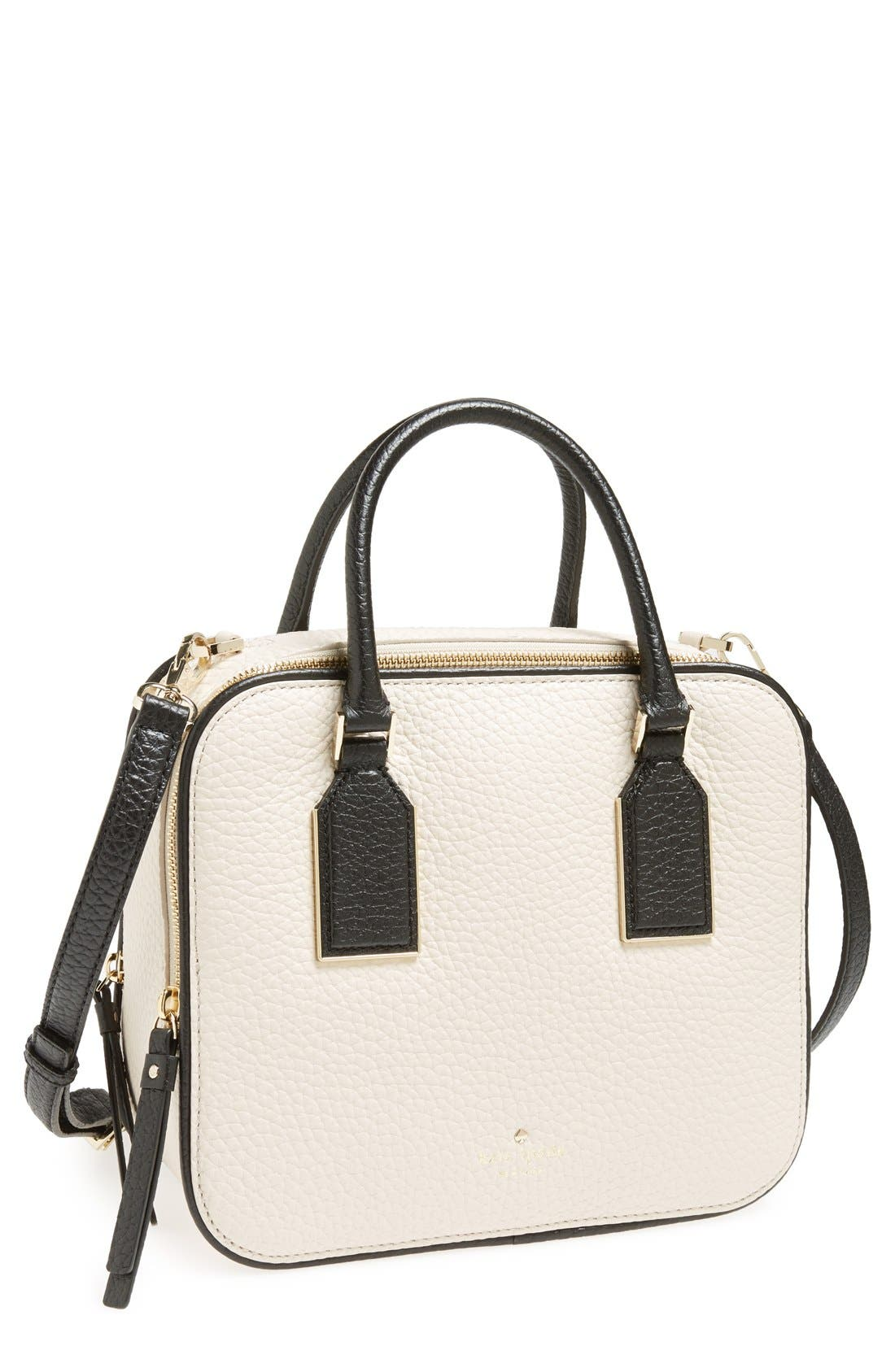 Main Image - kate spade new york 'cecil court - elia' leather satchel