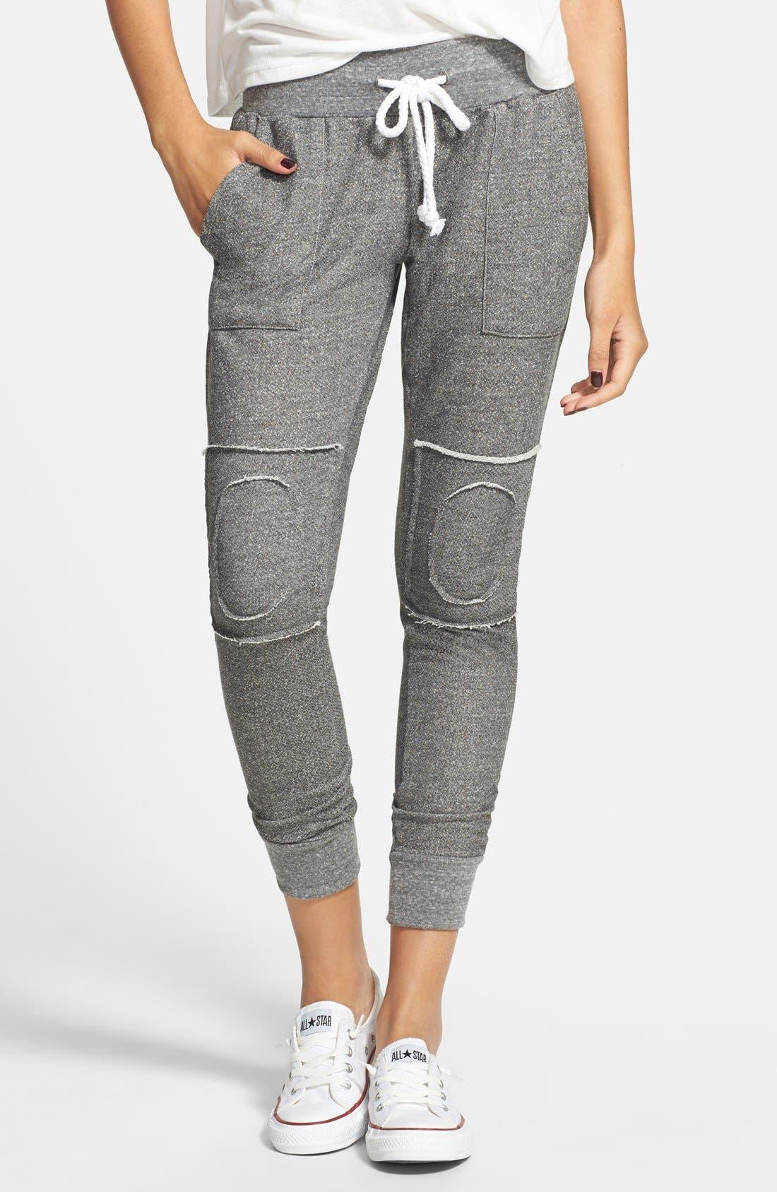 Alternate Image 1 Selected - ISABELLA ROSE TAYLOR Skinny Lounge Pants (Juniors)