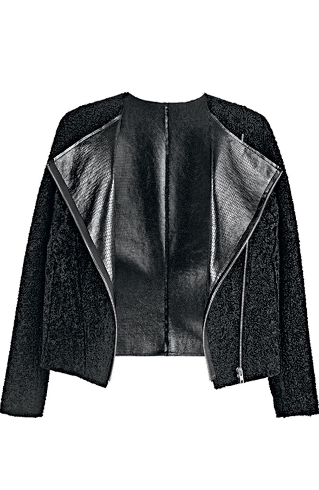 Alternate Image 6  - Trouvé Reversible Biker Jacket