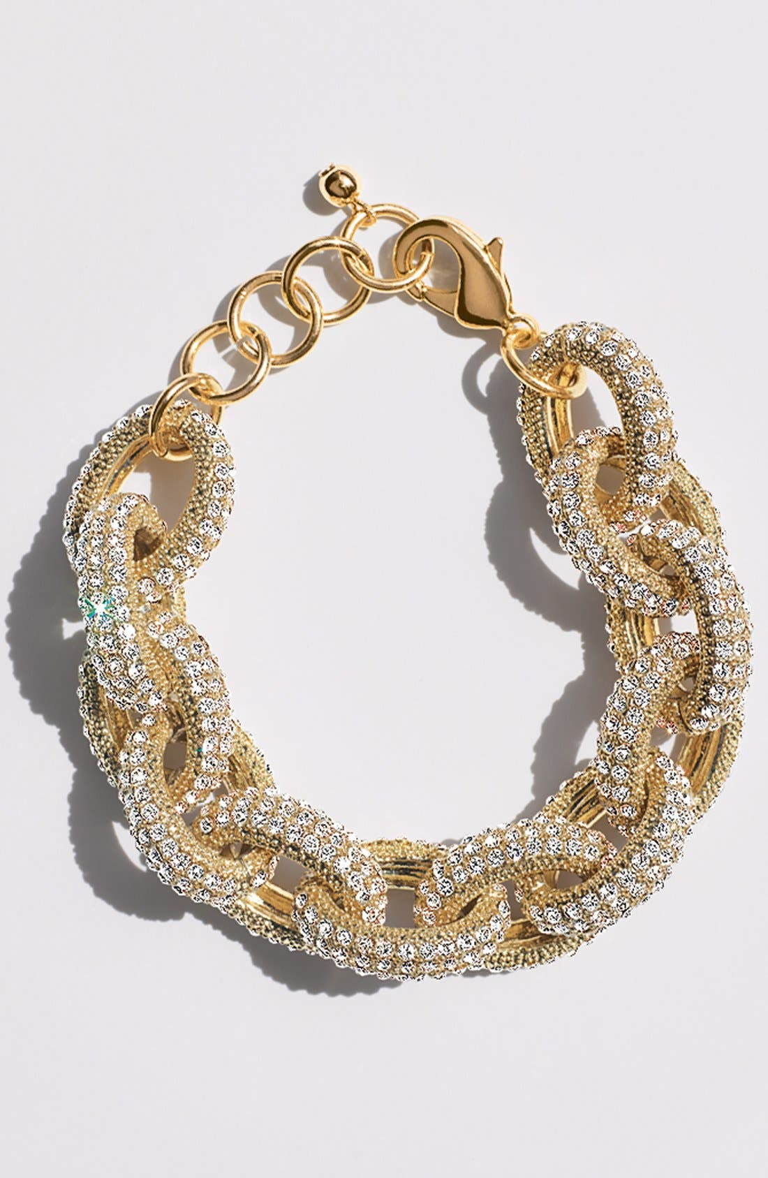 Alternate Image 5  - Nordstrom Pavé Link Bracelet