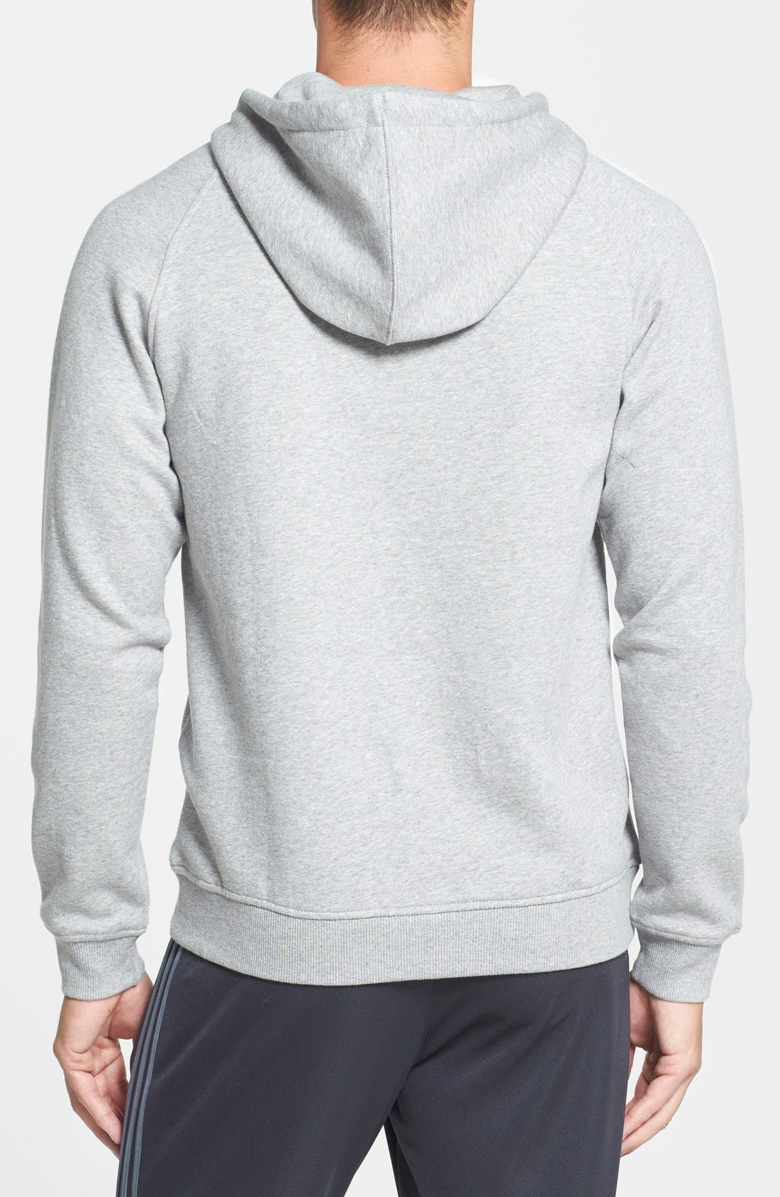 Alternate Image 2  - adidas Originals Regular Fit Raglan Hoodie