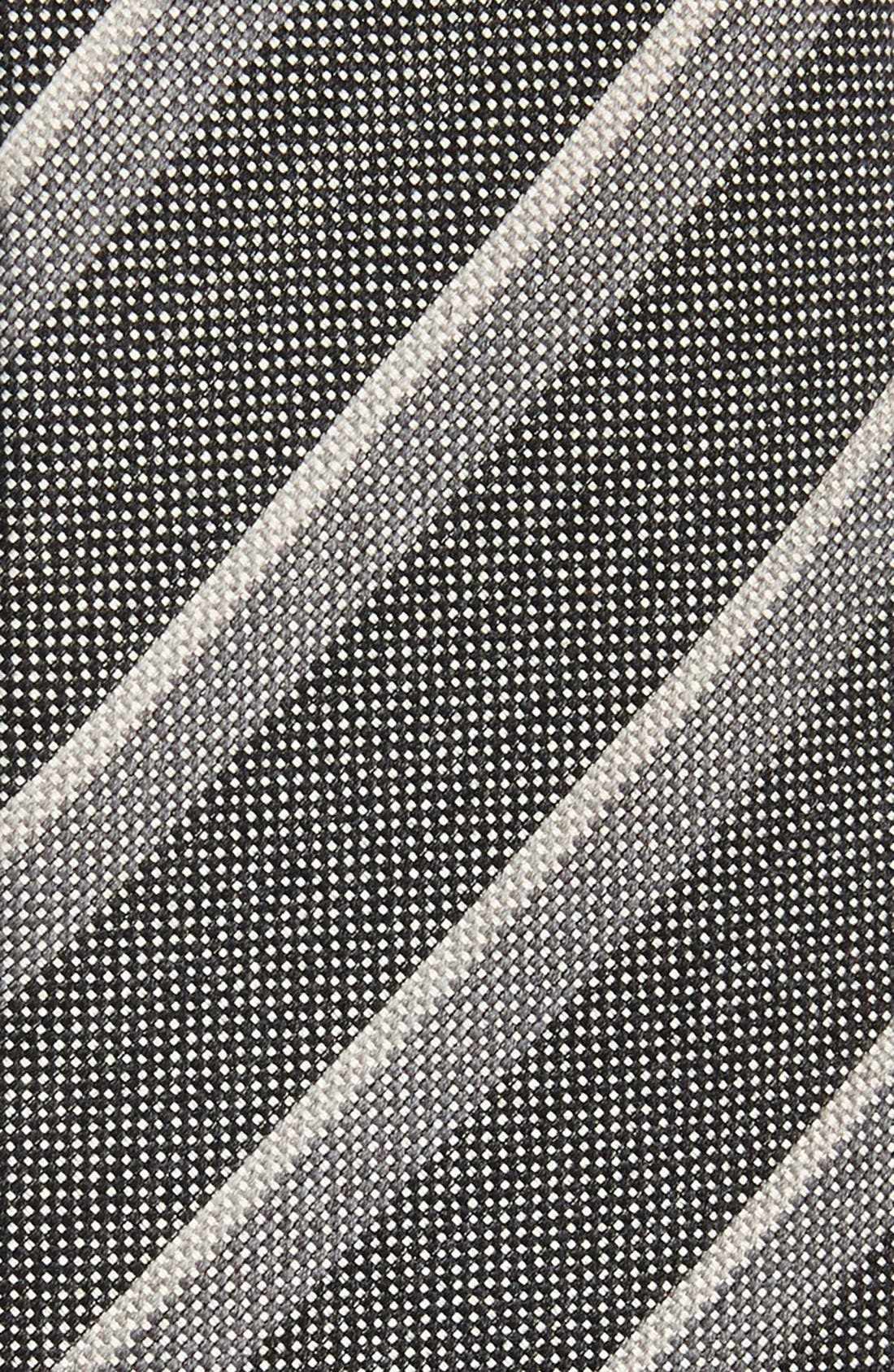 Alternate Image 2  - John Varvatos Collection Woven Cotton Blend Tie