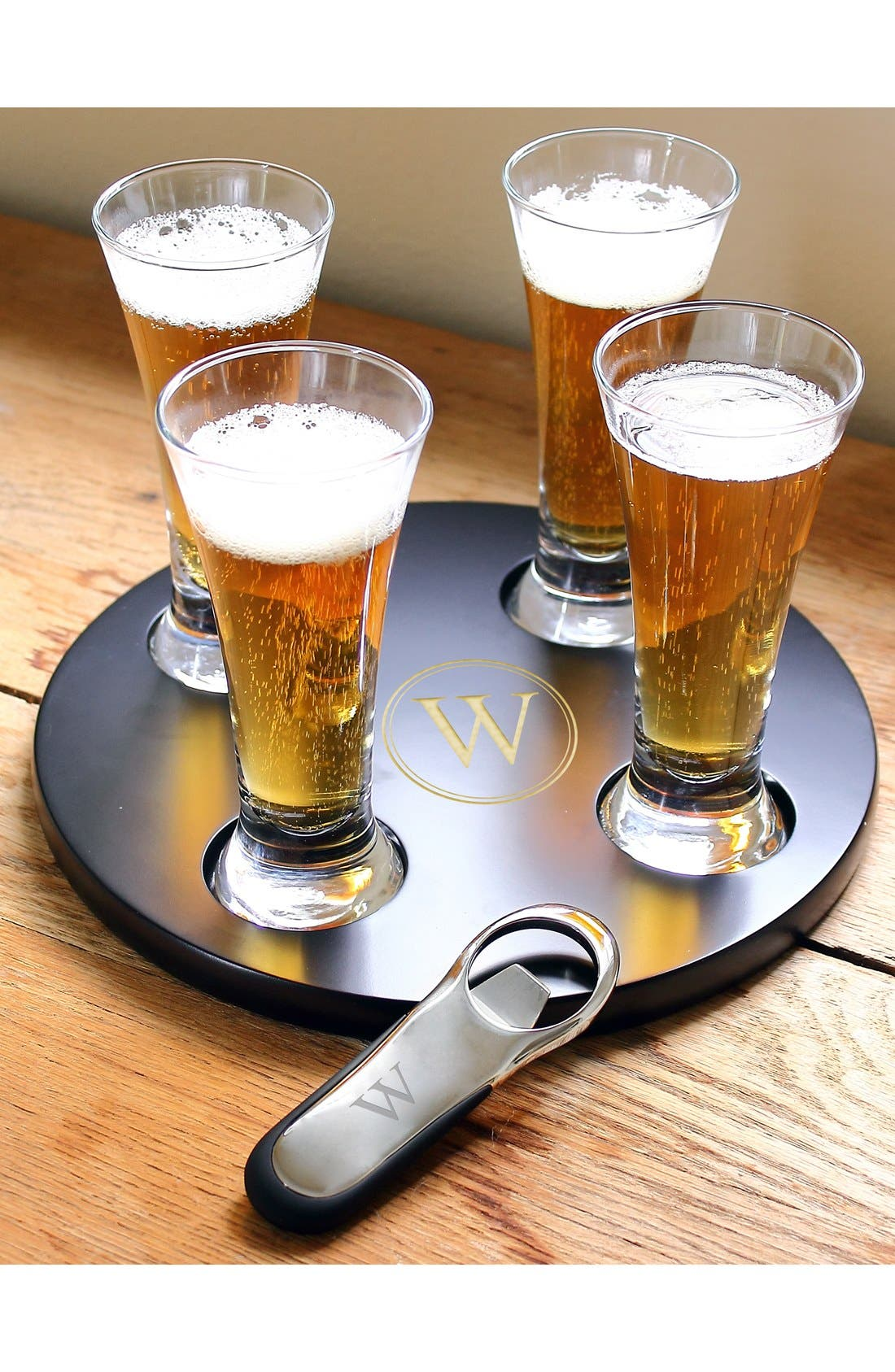 Alternate Image 1 Selected - Cathy's Concepts Personalized Beer Flight Sampler Set (Set of 6)