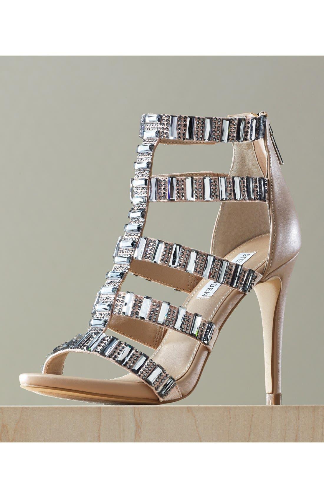 Alternate Image 5  - Steve Madden 'Famme' Crystal Sandal (Women)