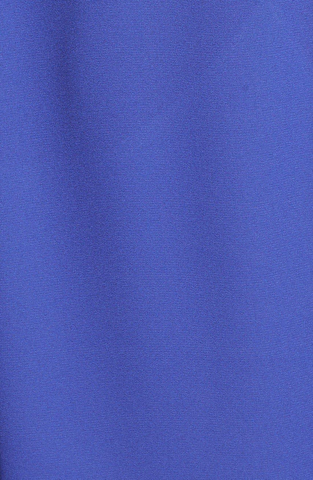 Alternate Image 3  - Lush Cross Front Shirt (Juniors)
