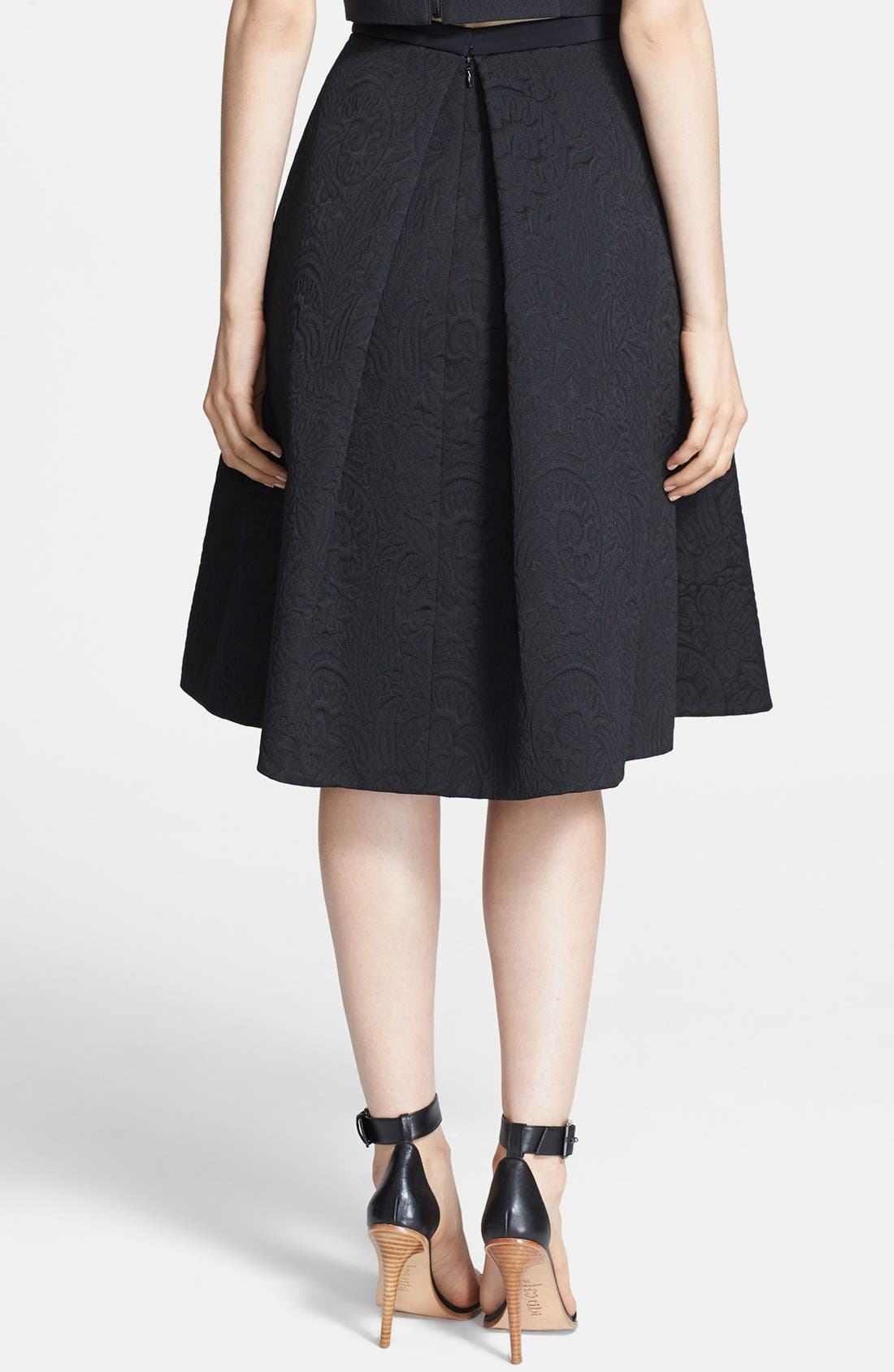 Alternate Image 2  - Tibi 'Lia' Jacquard Midi Skirt