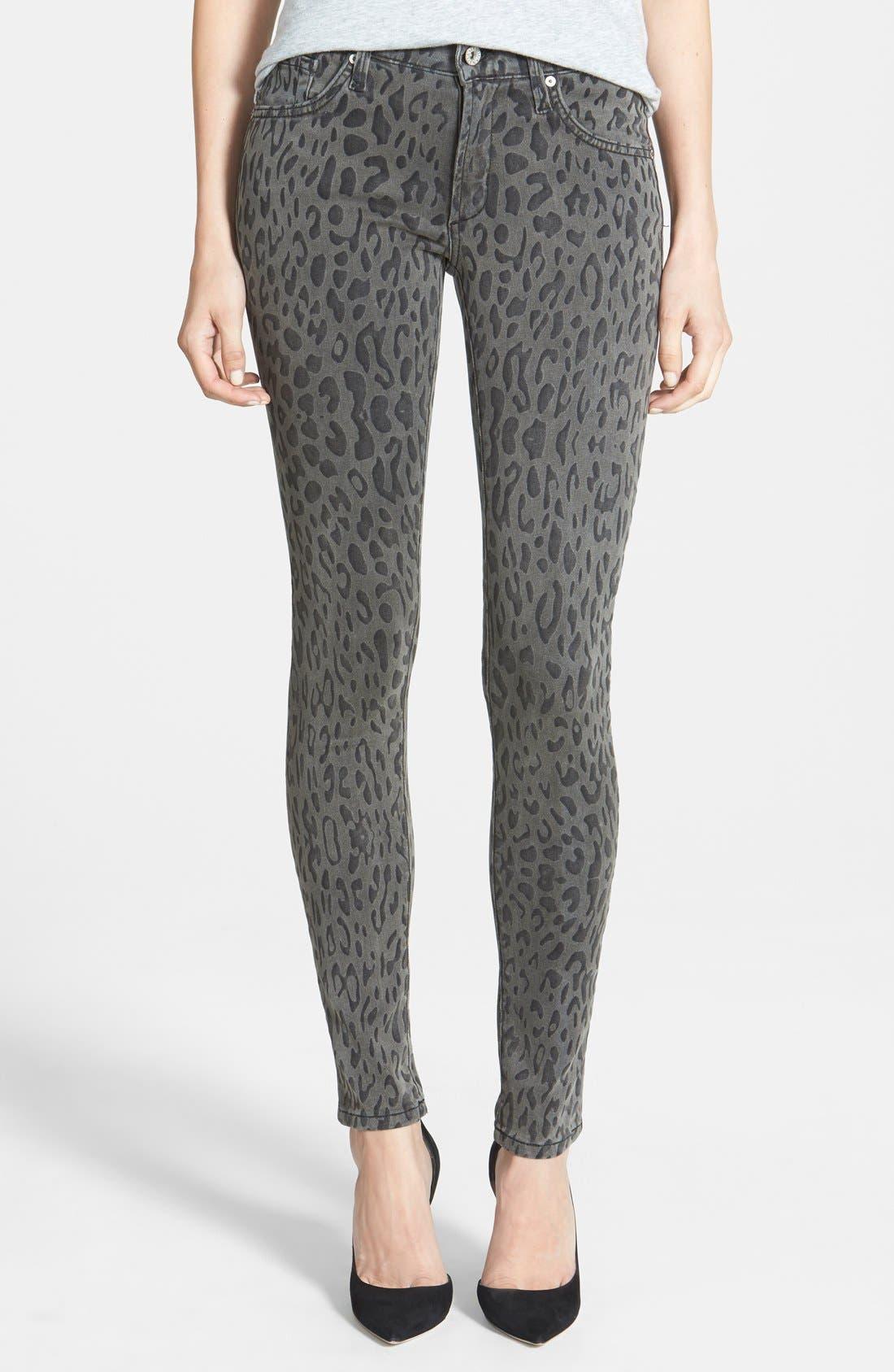 Alternate Image 1 Selected - James Jeans Five Pocket Leggings (Cougar)