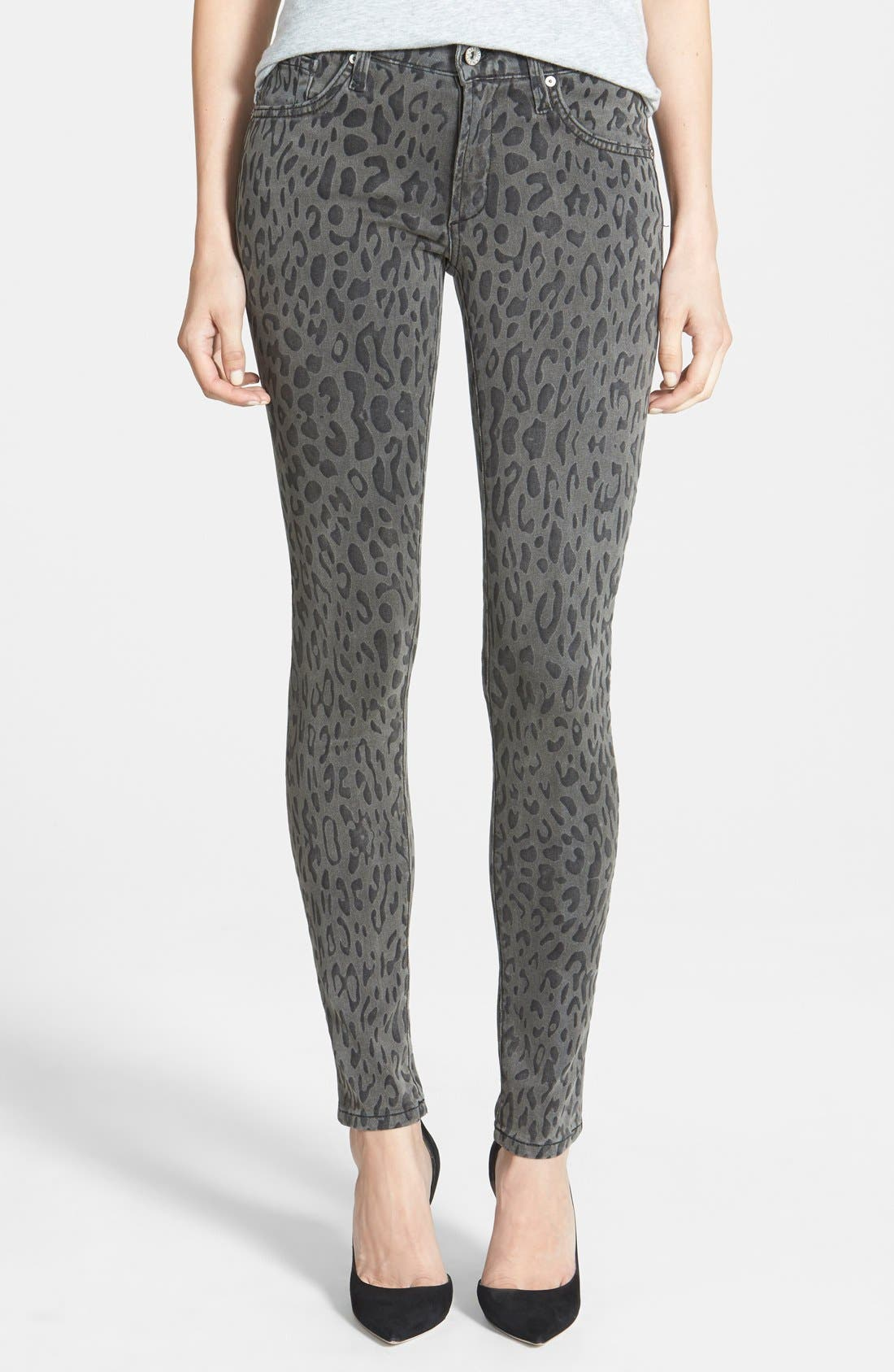 Main Image - James Jeans Five Pocket Leggings (Cougar)
