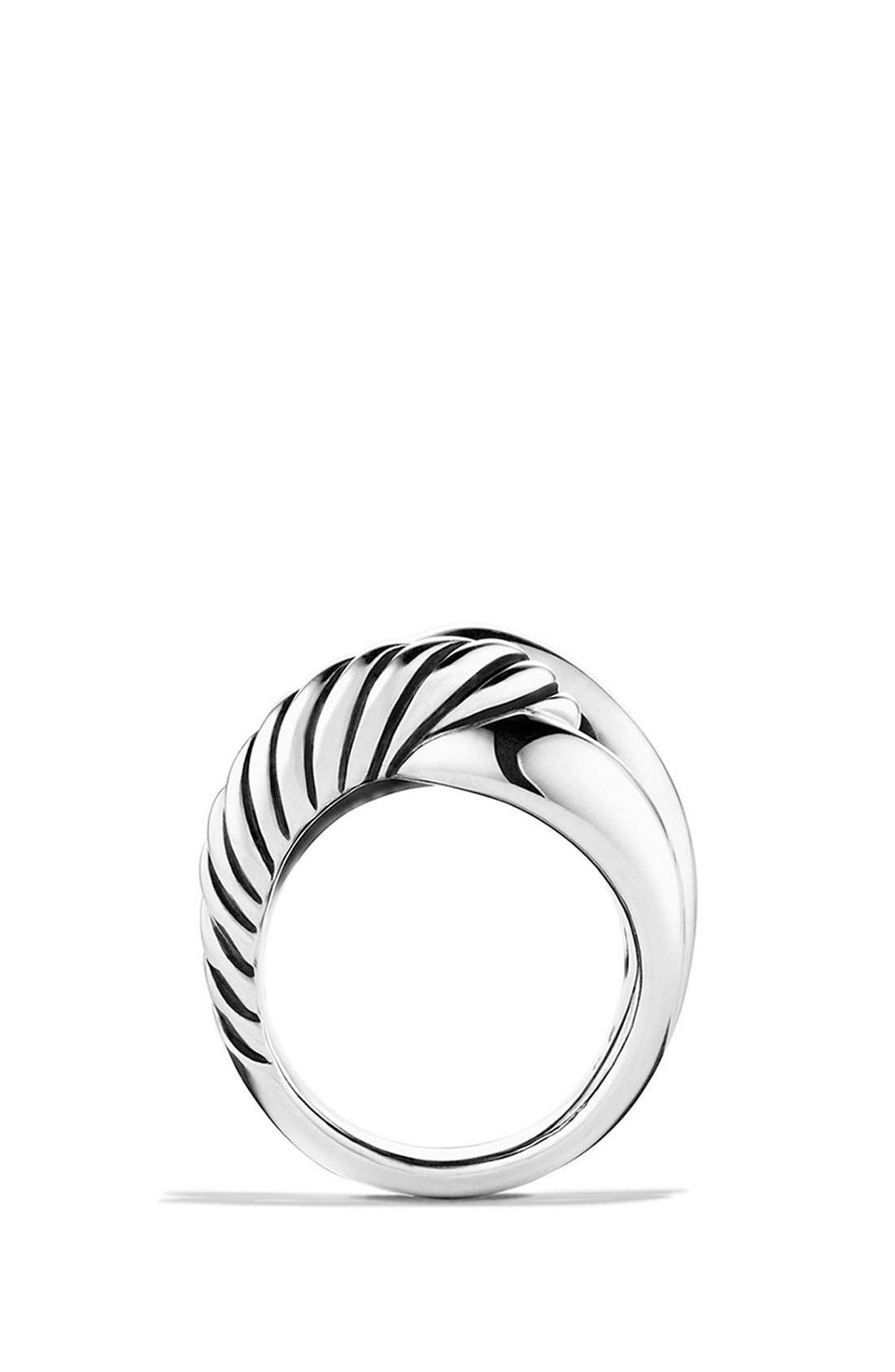 'Infinity' Large Ring,                             Alternate thumbnail 4, color,                             Silver
