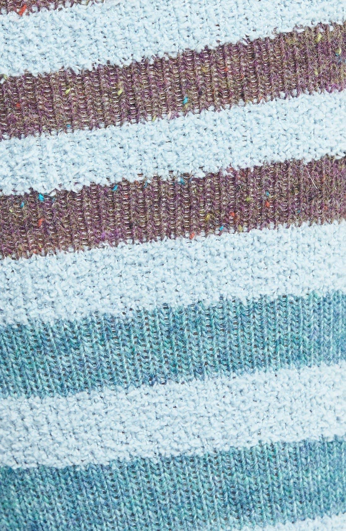 Alternate Image 2  - LEMON 'Playground' Stripe Over The Knee Socks