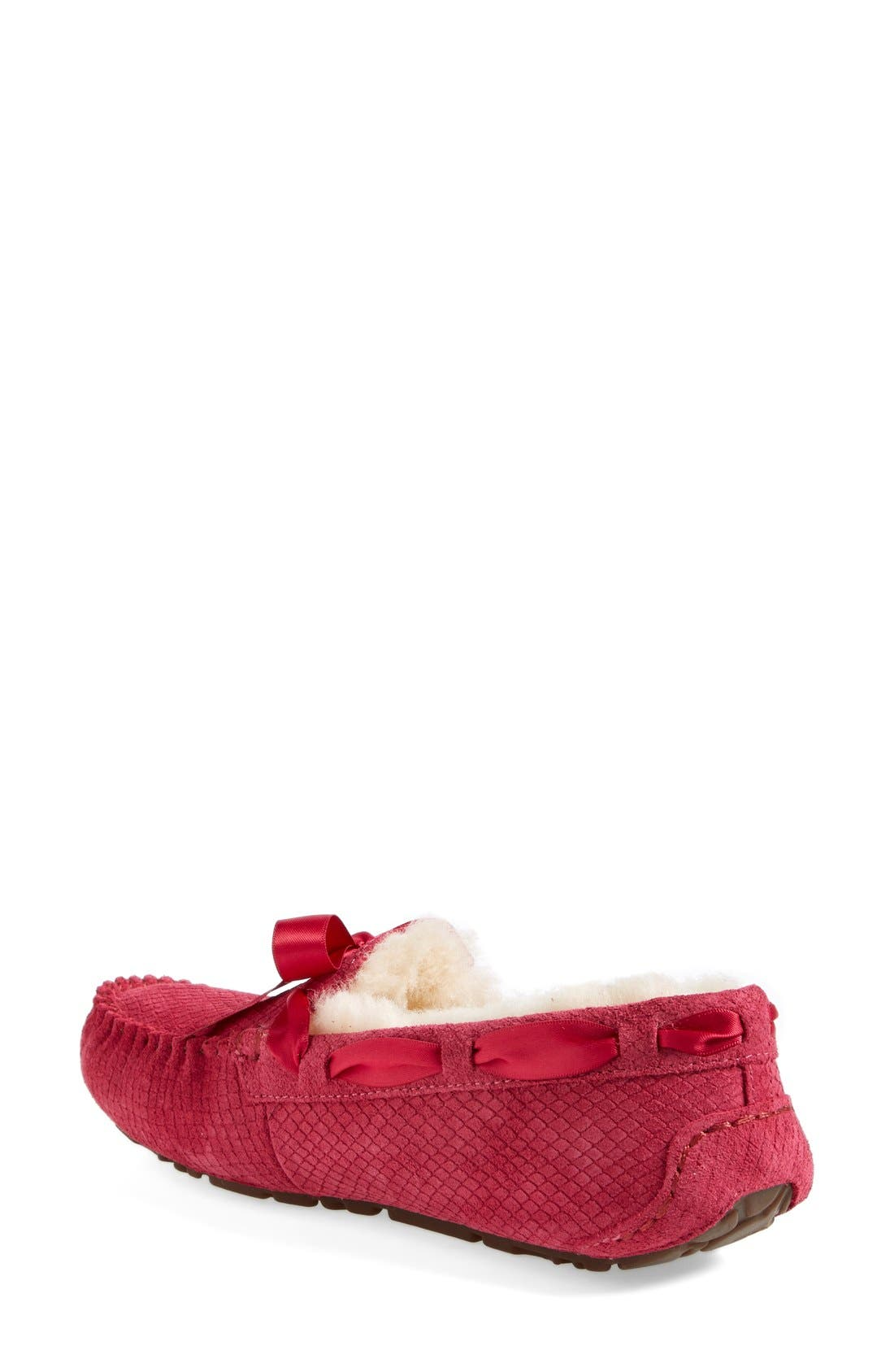 Alternate Image 2  - UGG® Australia 'Dakota - Exotic Scales' Suede Slipper (Women)
