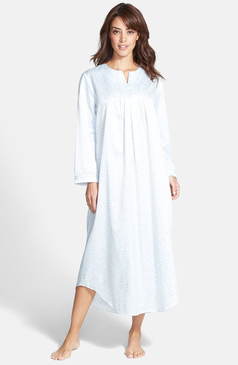 Carole Hochman Designs Brushed Back Satin Nightgown | Nordstrom