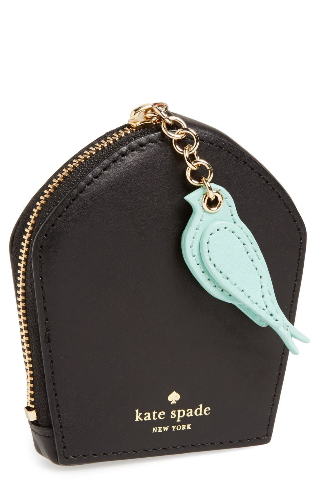 Alternate Image 1 Selected - kate spade new york 'hello shanghai - birdcage' coin pouch
