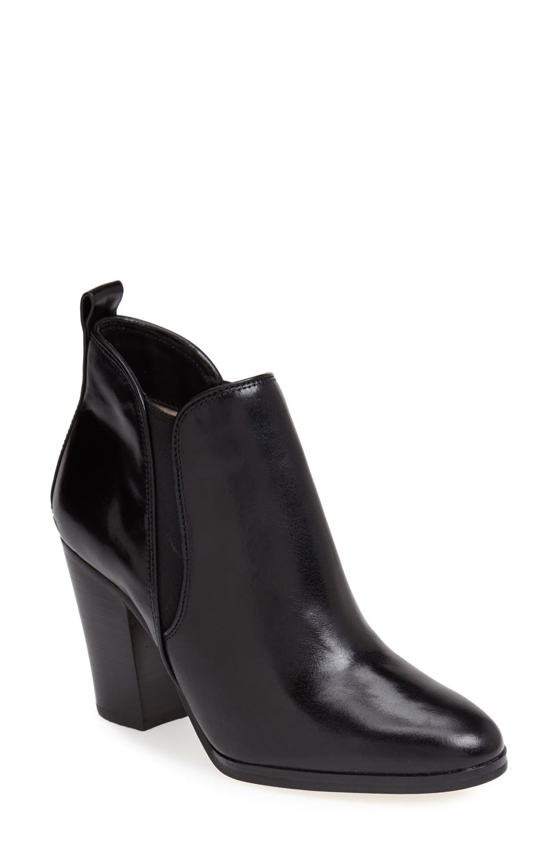 Alternate Image 1 Selected - MICHAEL Michael Kors 'Brandy' Leather Bootie (Women)