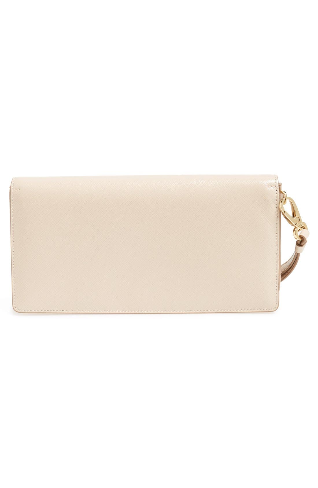 'Camy' Clutch,                             Alternate thumbnail 4, color,                             New Bisque