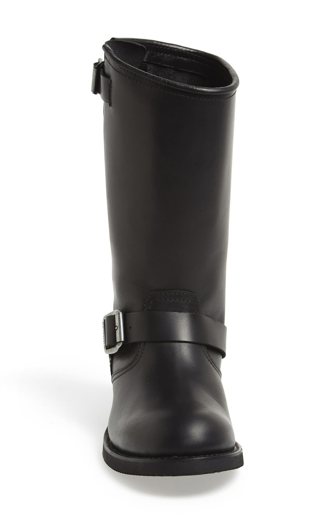 'Engineer' Boot,                             Alternate thumbnail 3, color,                             Black