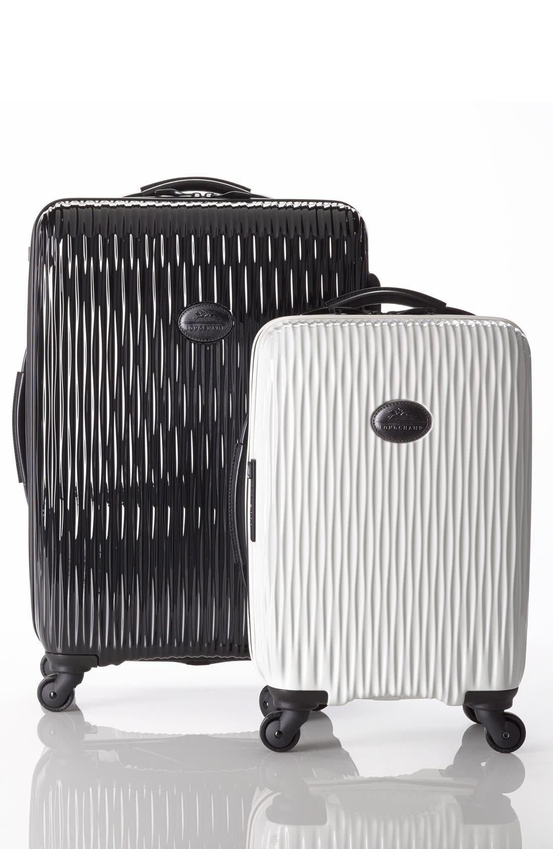 Alternate Image 5  - Longchamp 'Medium Fairval' Four-Wheel Hard Shell Suitcase (28 Inch)