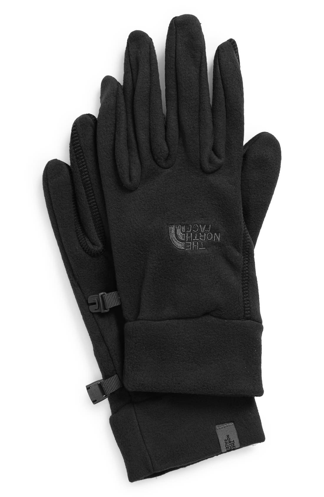 TKA 100 Gloves,                             Main thumbnail 1, color,                             Tnf Black