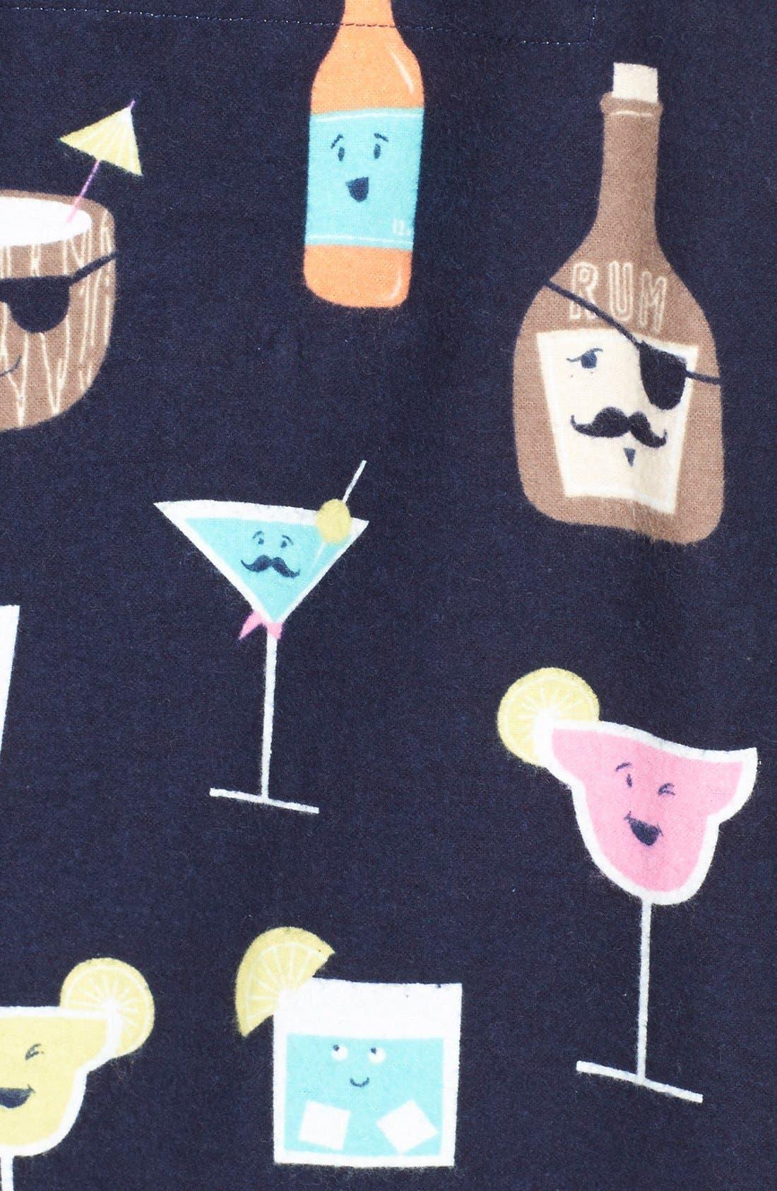 Alternate Image 4  - PJ Salvage 'Fall into Flannel' Pajamas
