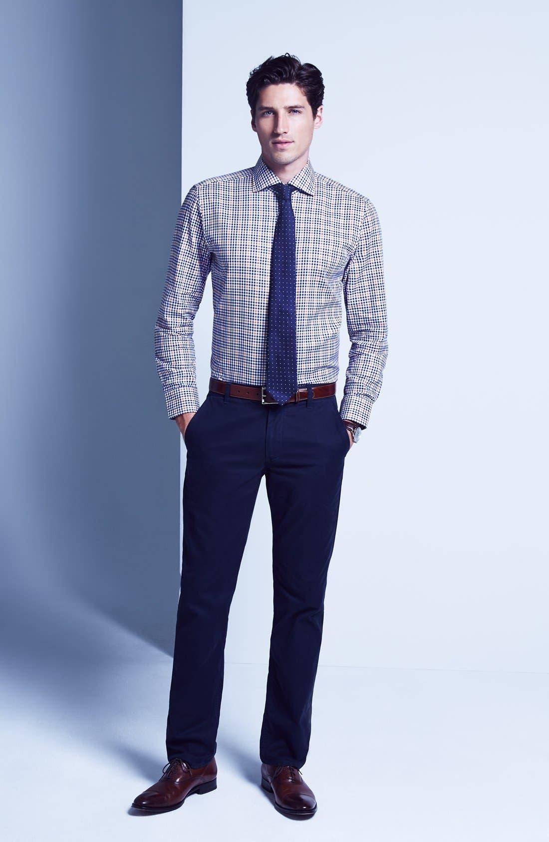 Alternate Image 3  - BOSS HUGO BOSS 'Miles US' Sharp Fit Check Dress Shirt