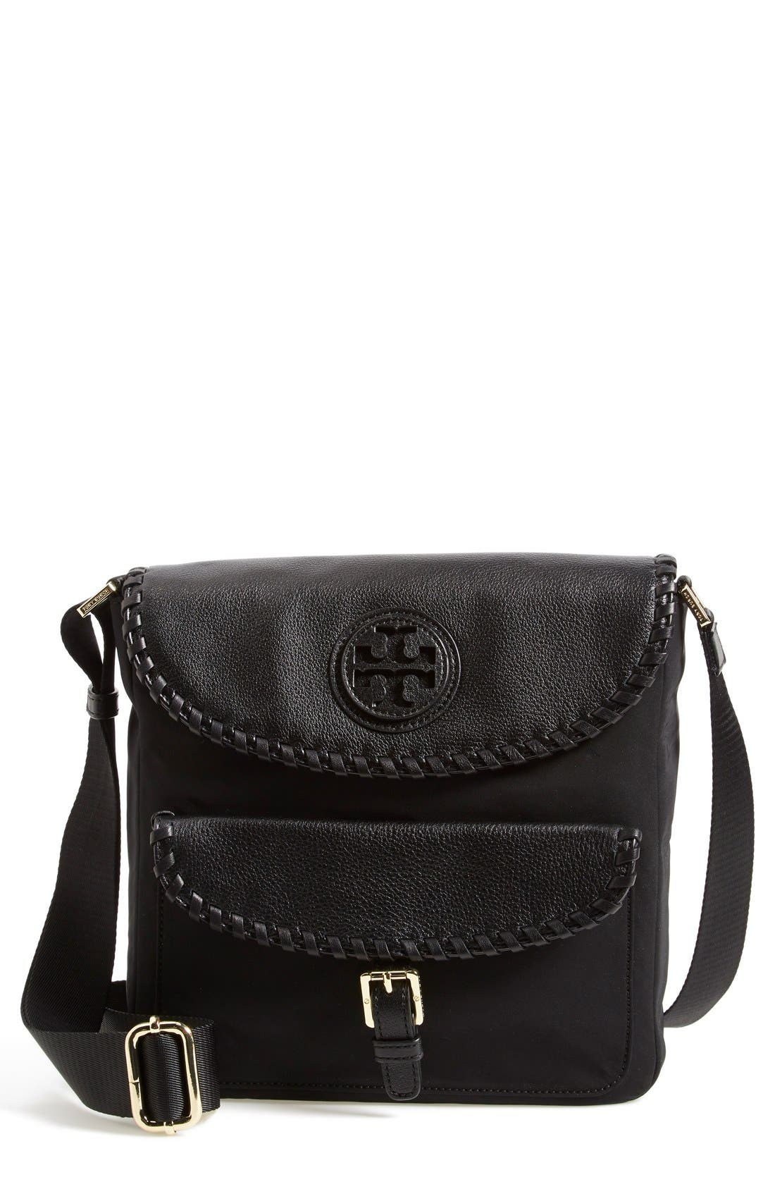 Alternate Image 1 Selected - Tory Burch 'Marion' Messenger Bag