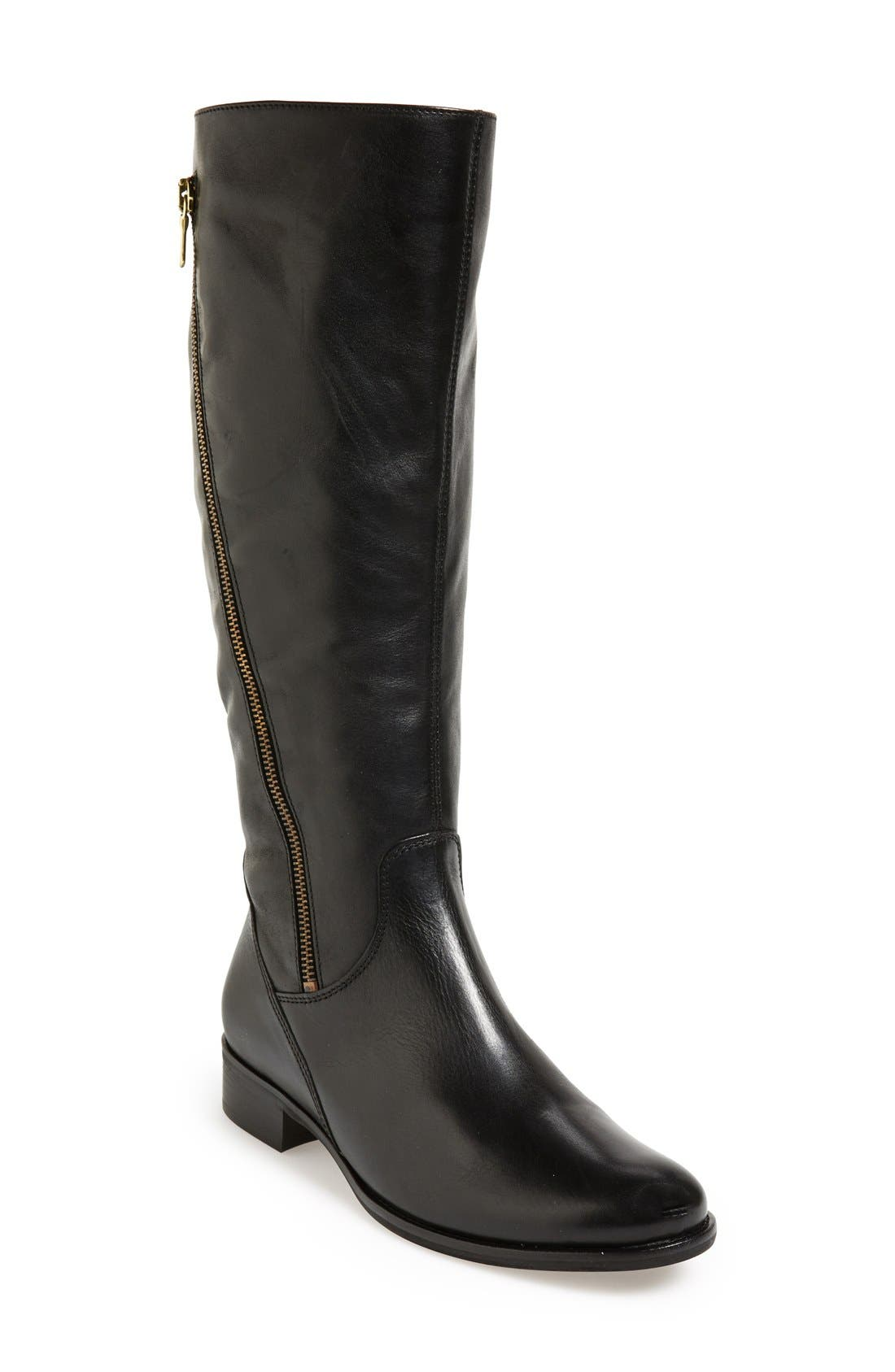 Alternate Image 1 Selected - Gabor 'Gold' Leather Riding Boot (Women)