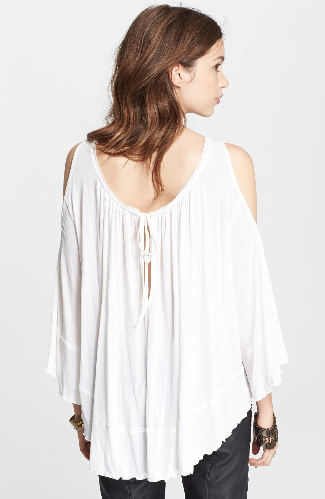 Alternate Image 2  - Free People 'Chloe' Solid Blouse