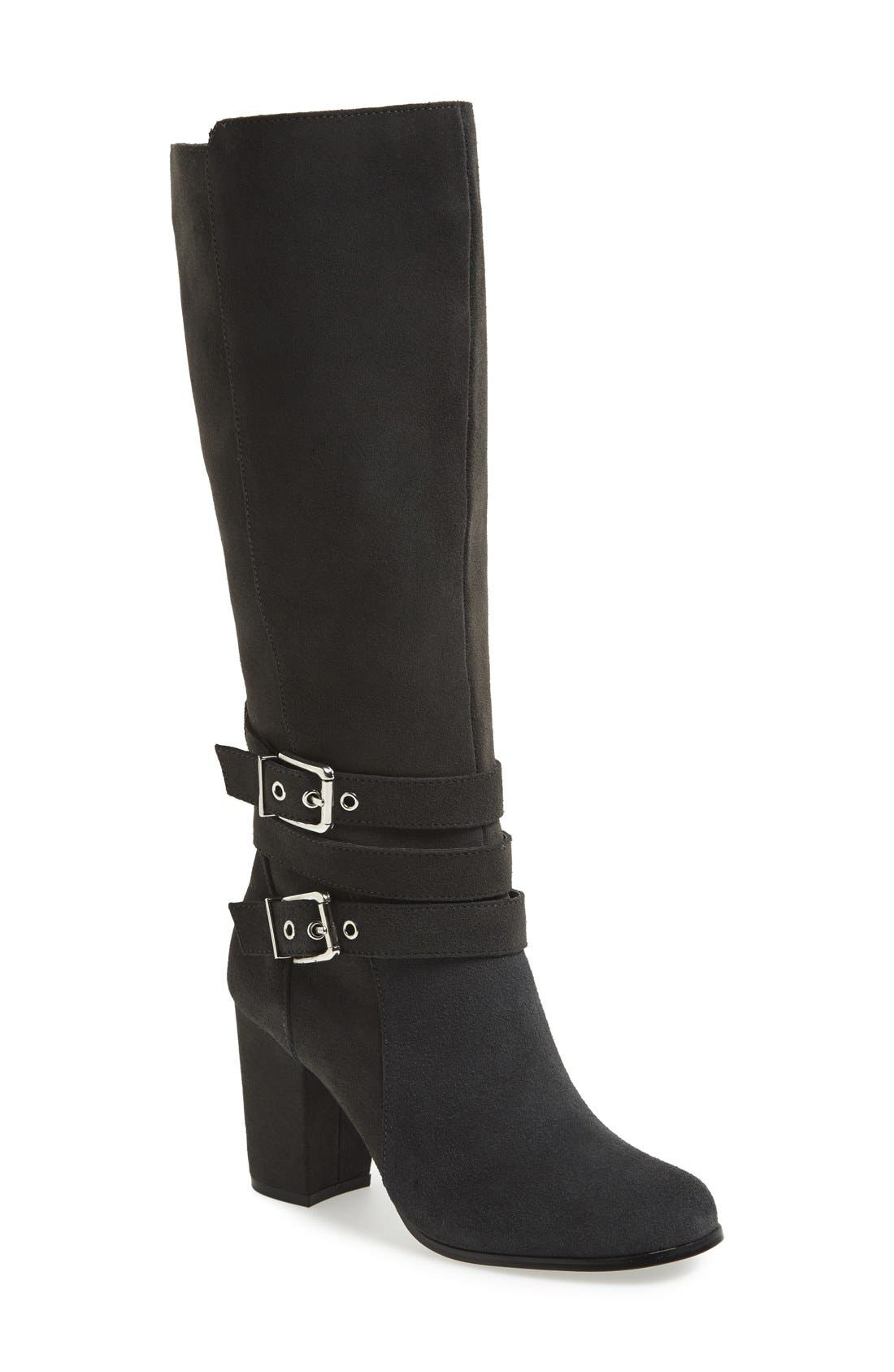 Alternate Image 1 Selected - Charles by Charles David 'Valence' Knee High Suede Boot (Women)