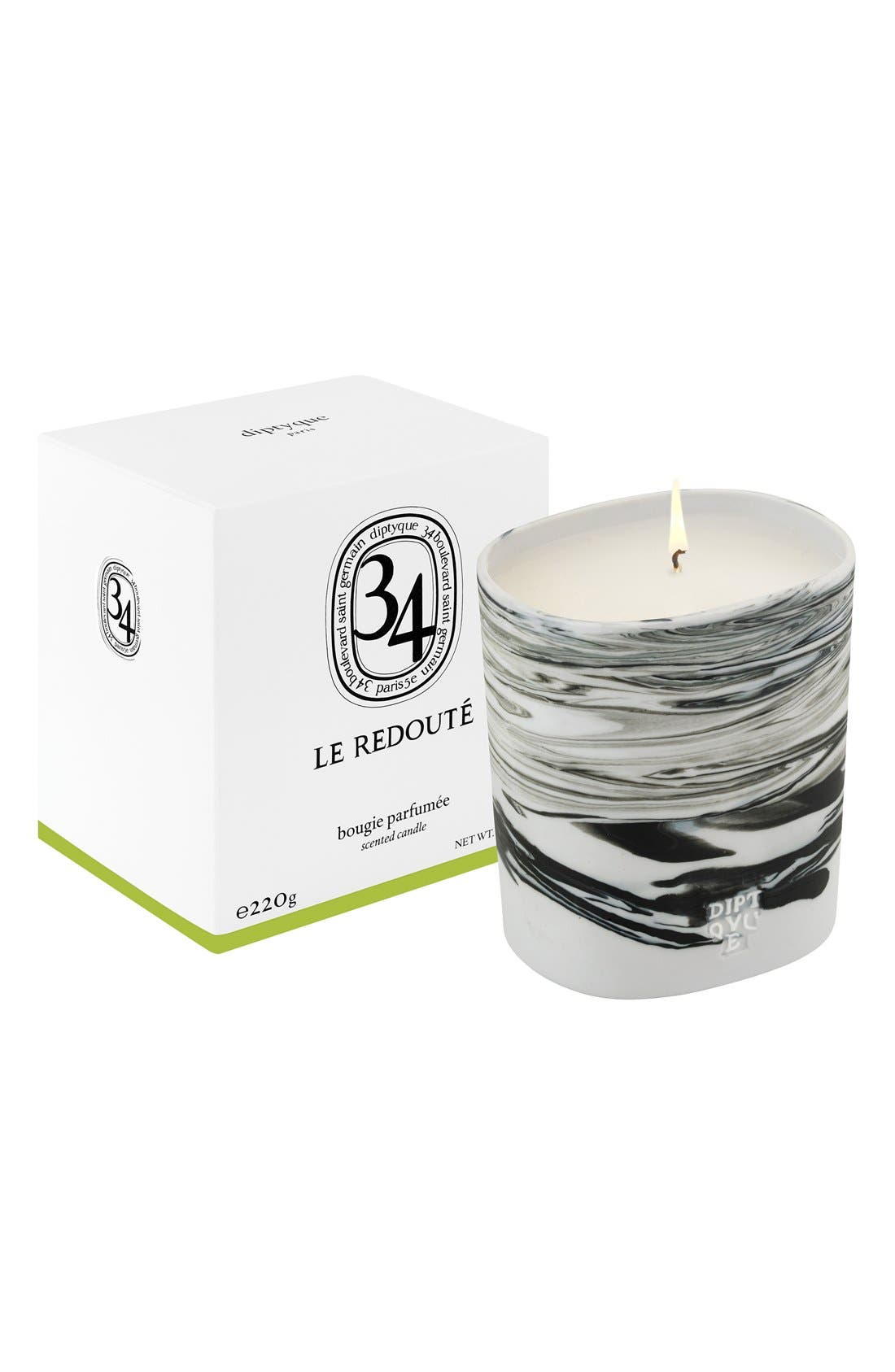Alternate Image 2  - diptyque 34 Le Redouté Scented Candle